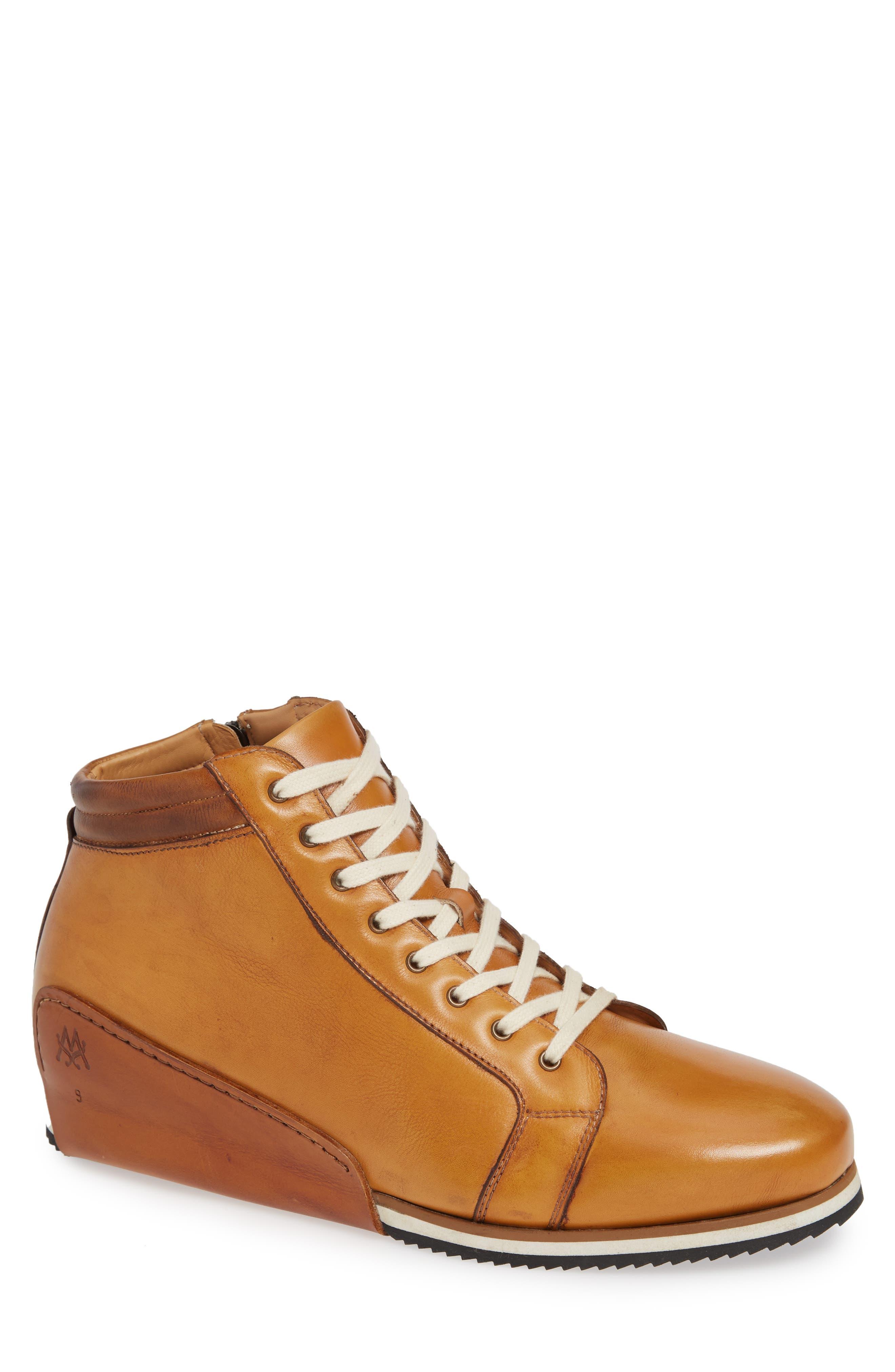 Niro Sneaker,                         Main,                         color, TAN LEATHER
