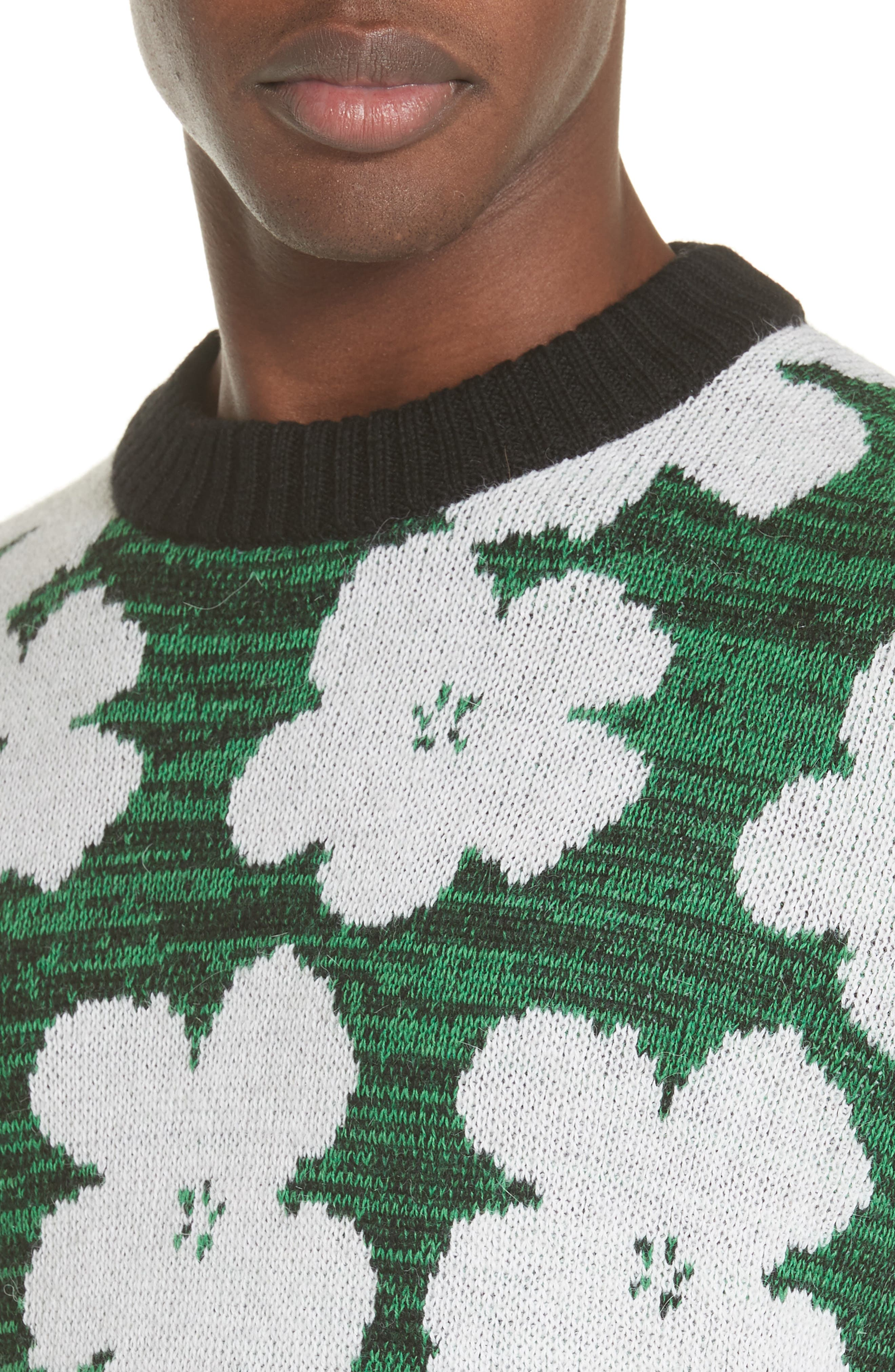 Andy Warhol Flower Sweater,                             Alternate thumbnail 4, color,                             320
