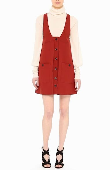 Wool Crepe Jumper Dress, video thumbnail