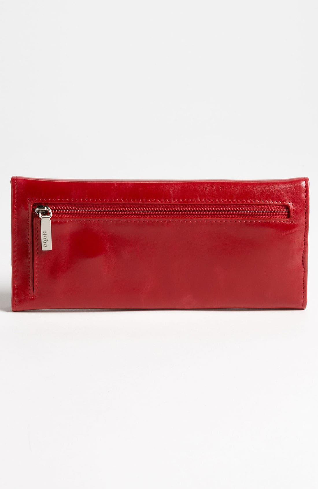 'Sadie' Leather Wallet,                             Alternate thumbnail 129, color,