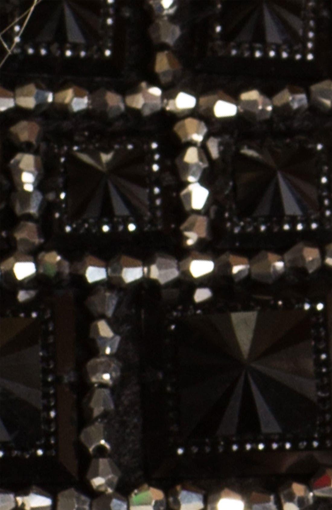 'Sequin Squares' Collar,                             Alternate thumbnail 2, color,                             001