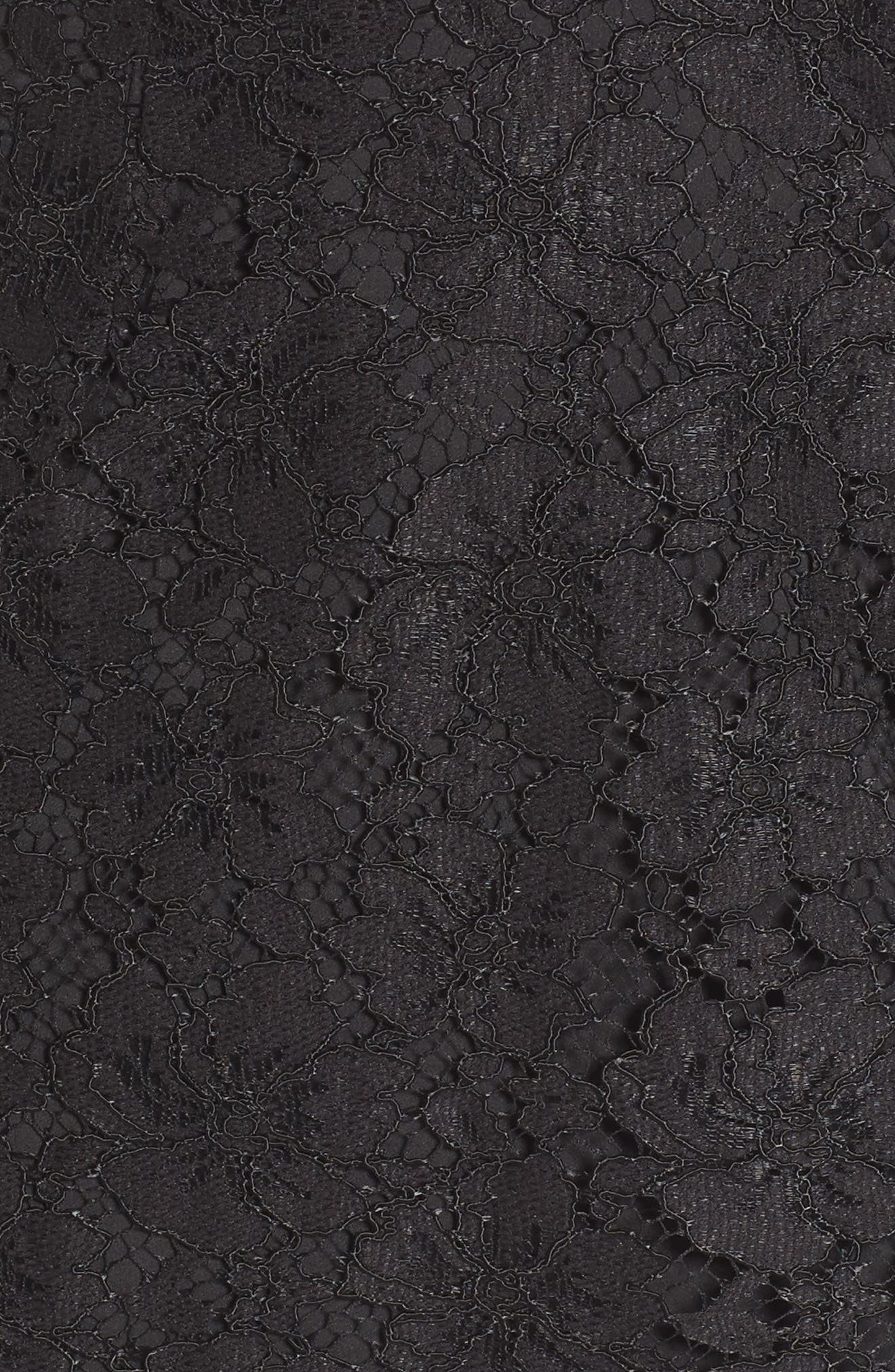 Say It Out Loud Lace Dress,                             Alternate thumbnail 5, color,                             002