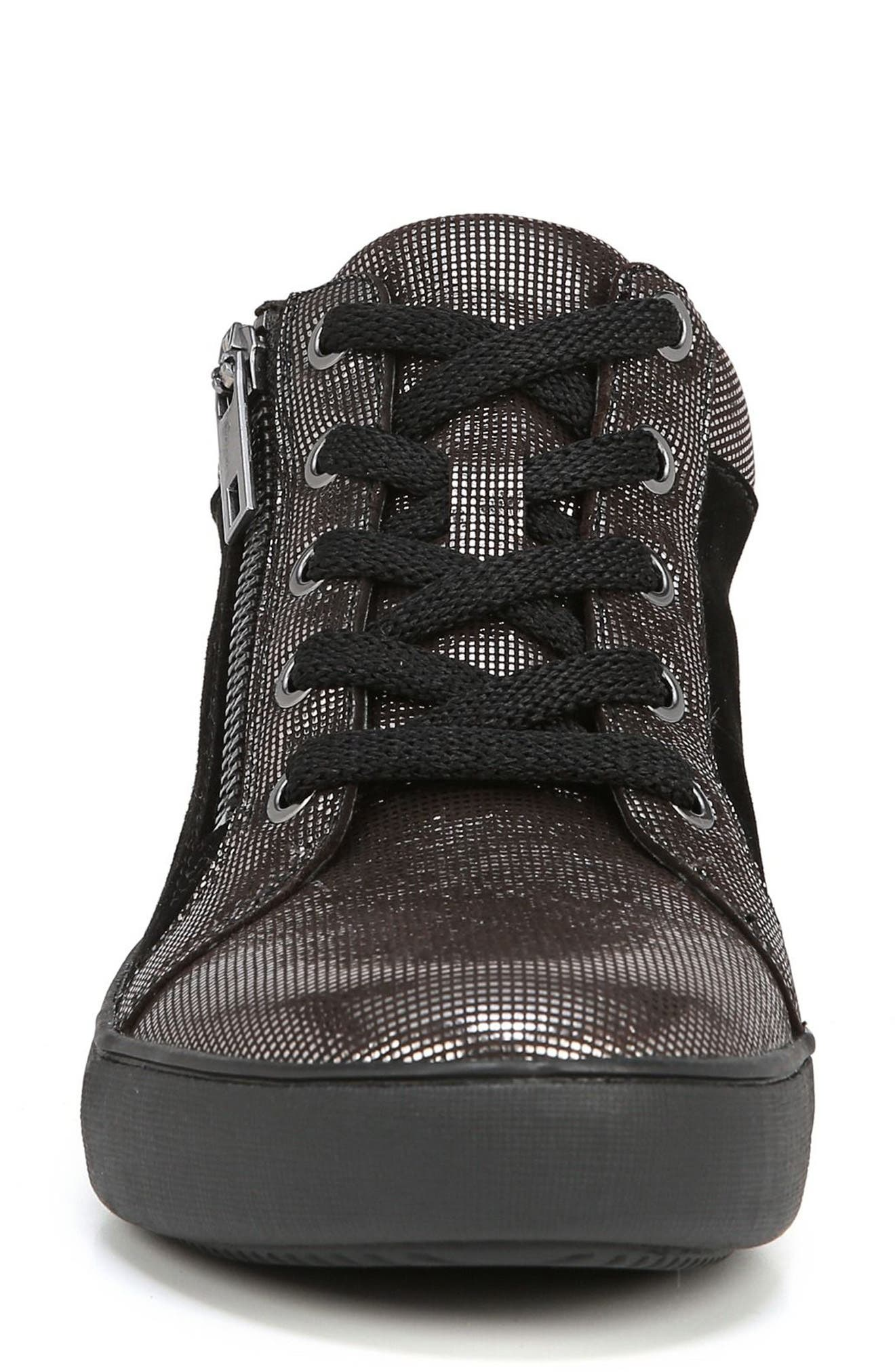 Motley Sneaker,                             Alternate thumbnail 4, color,                             PEWTER SUEDE
