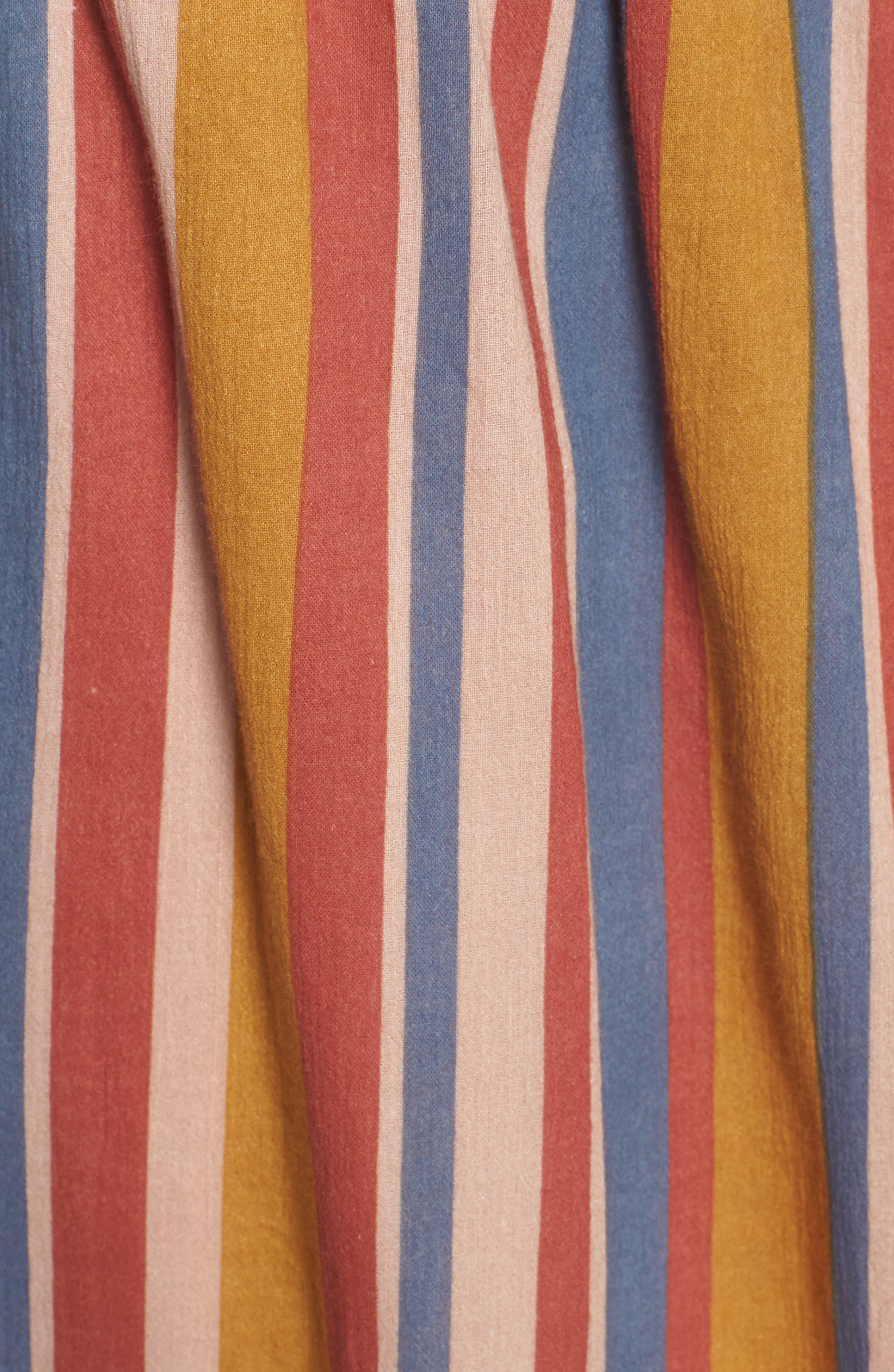 Smocked Midi Skirt,                             Alternate thumbnail 5, color,