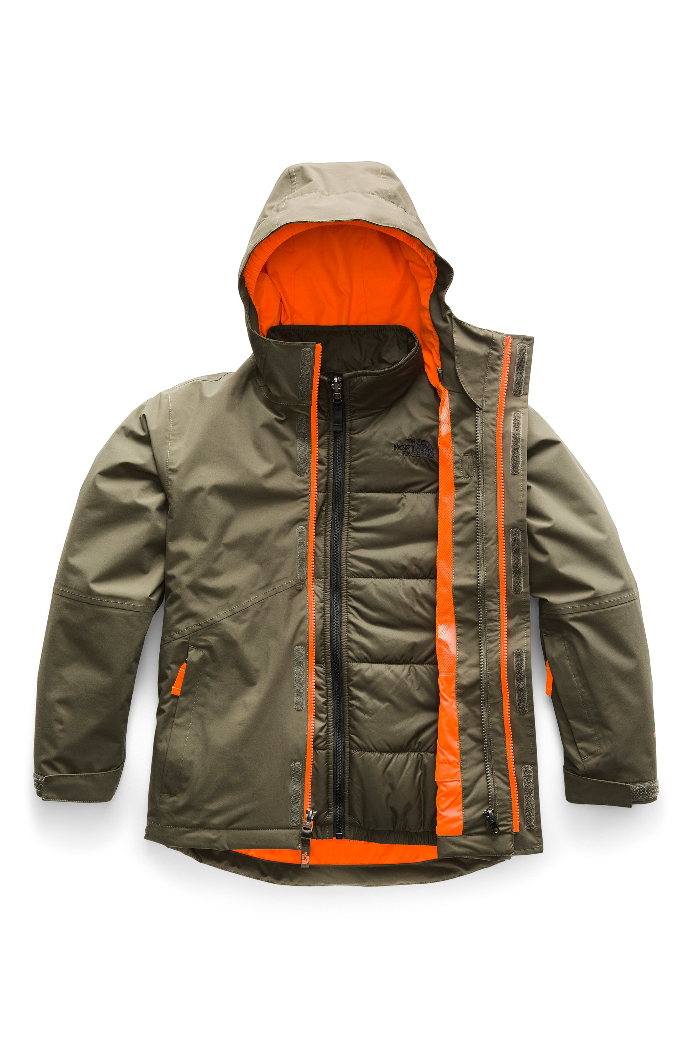 Boundary TriClimate<sup>®</sup> 3-in-1 Jacket,                         Main,                         color, NEW TAUPE GREEN