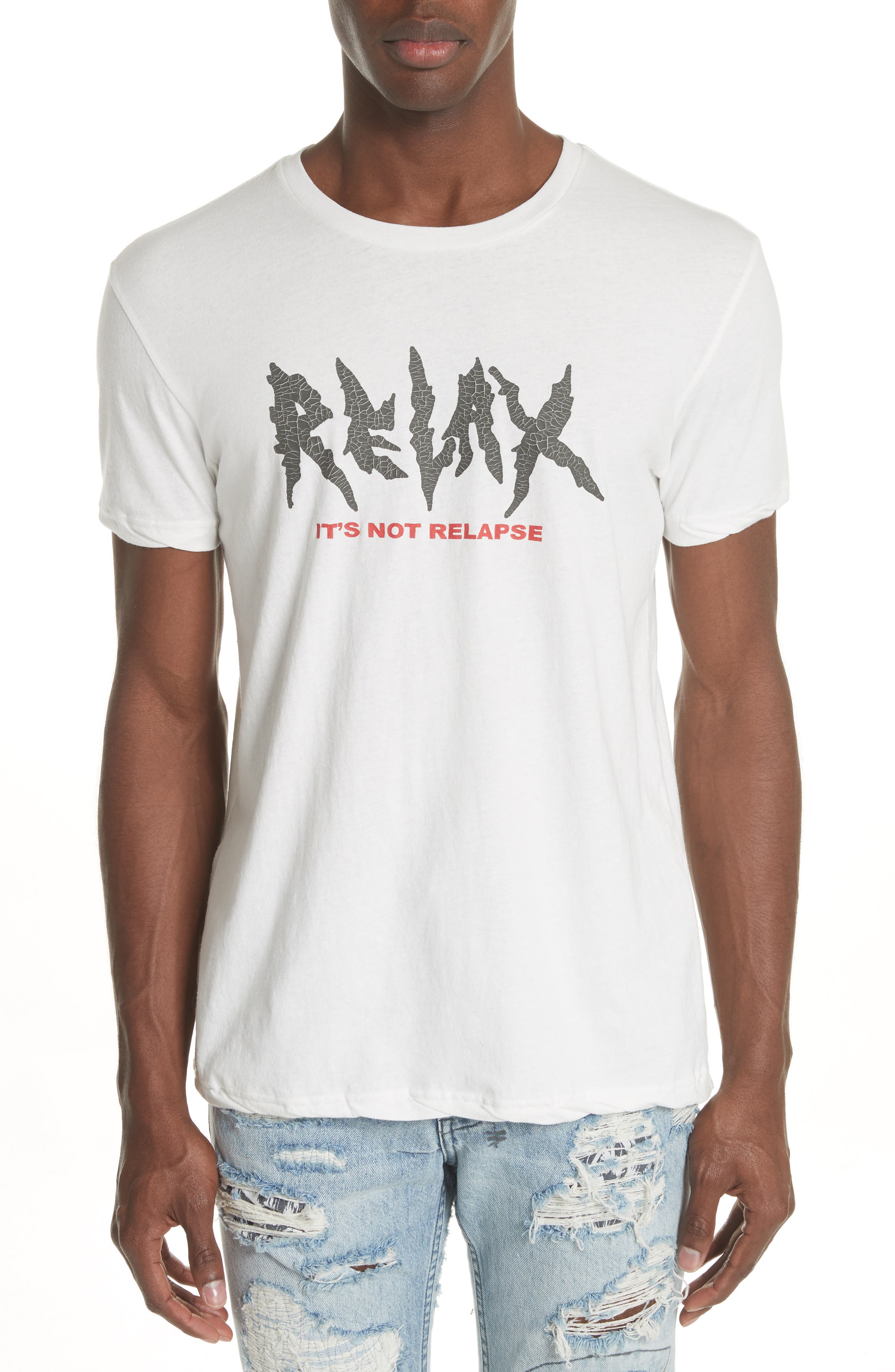 Relax Graphic T-Shirt,                             Main thumbnail 1, color,                             100