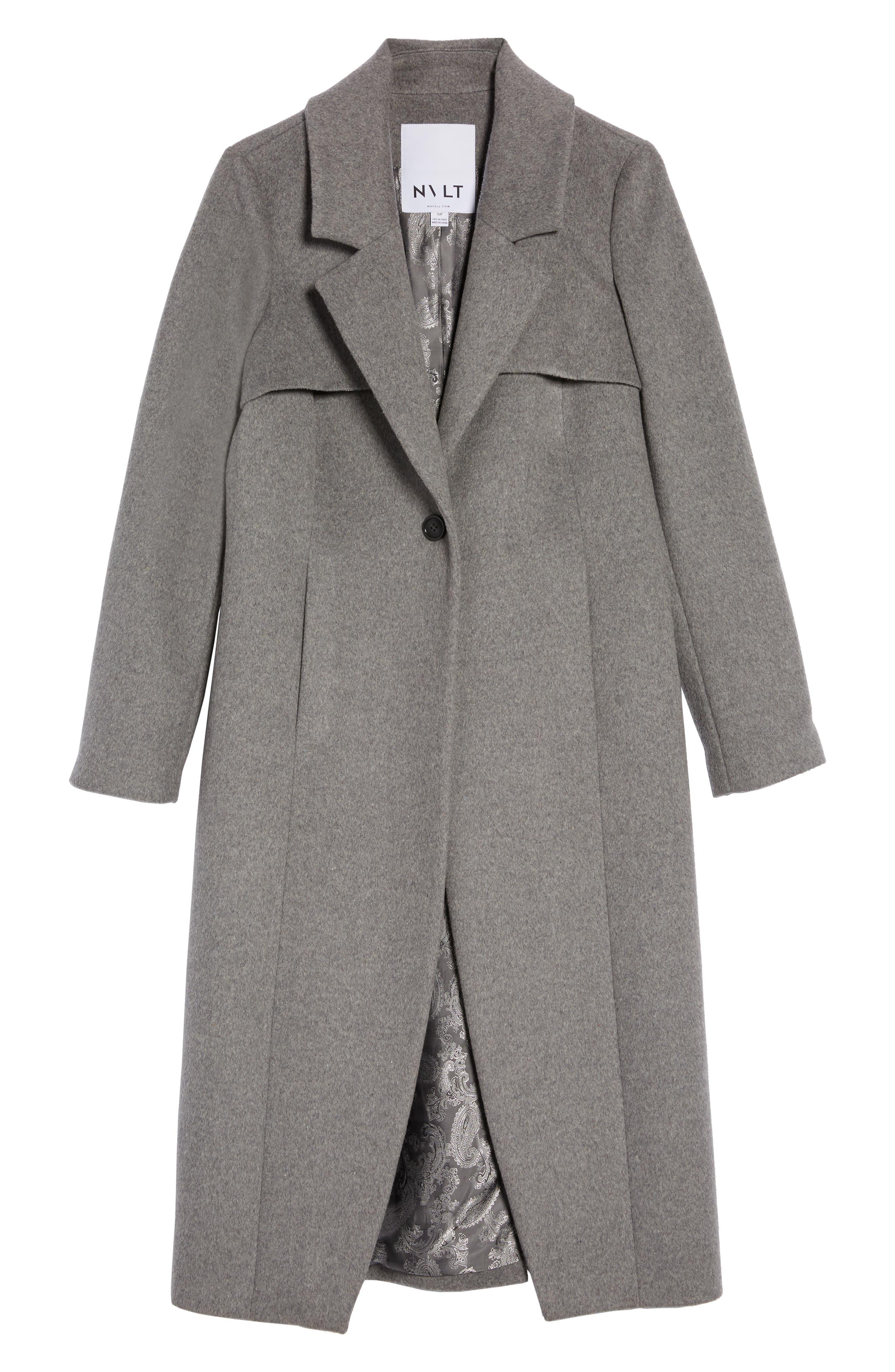 Long Coat,                             Alternate thumbnail 5, color,                             020