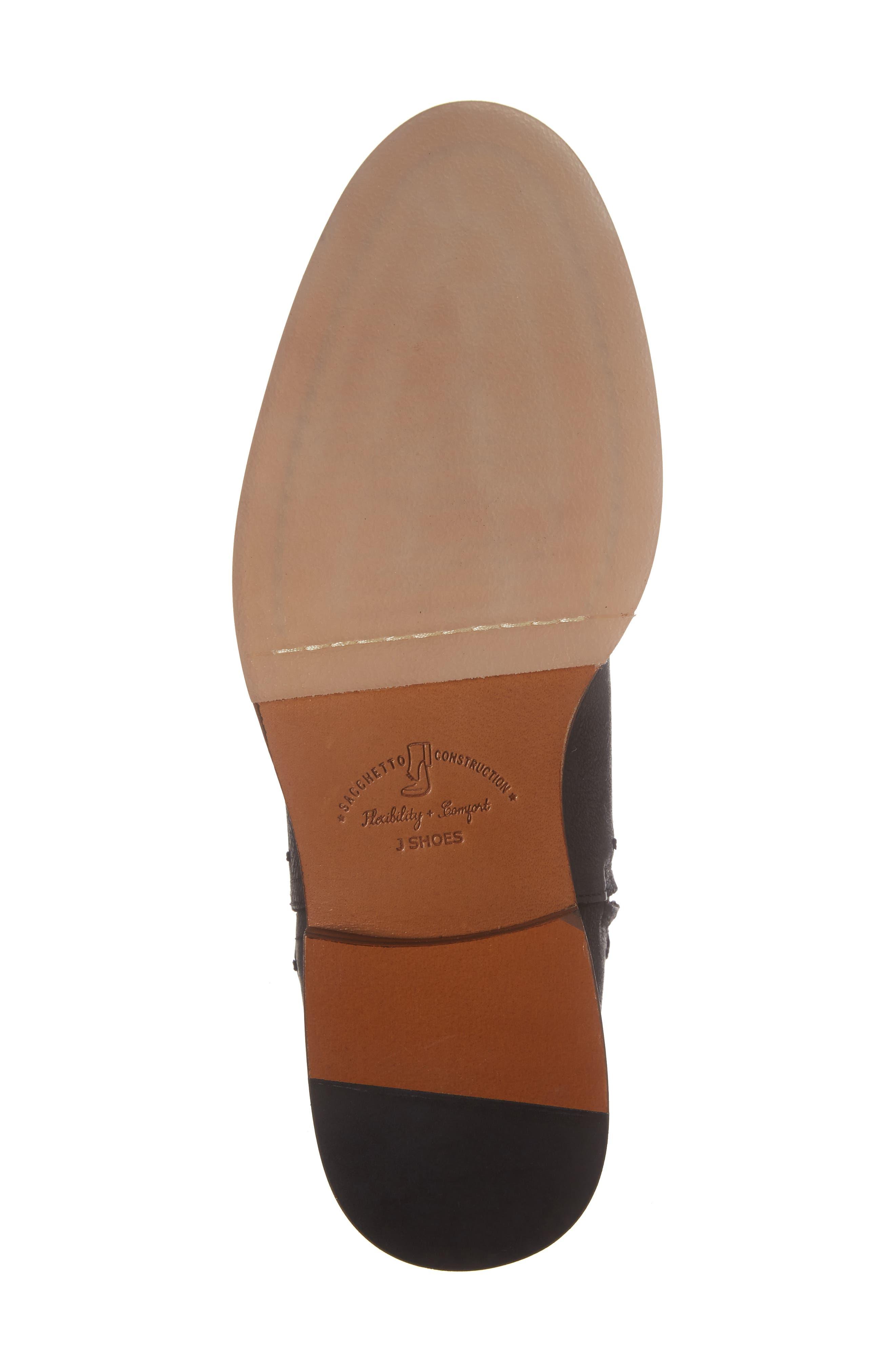 'Navarra' Zip Boot,                             Alternate thumbnail 6, color,                             001