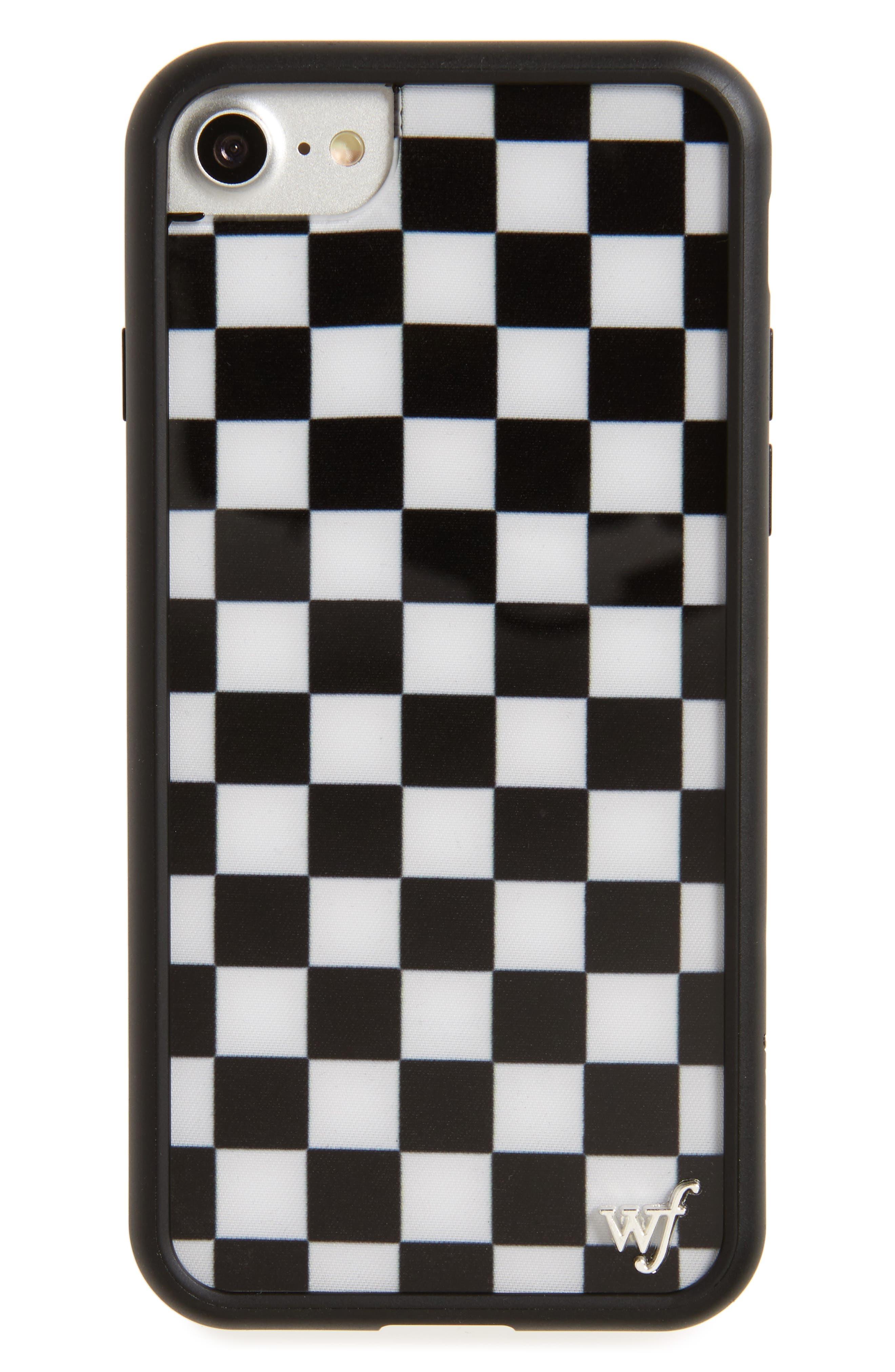 Checkerboard iPhone 7 Case,                         Main,                         color, 001
