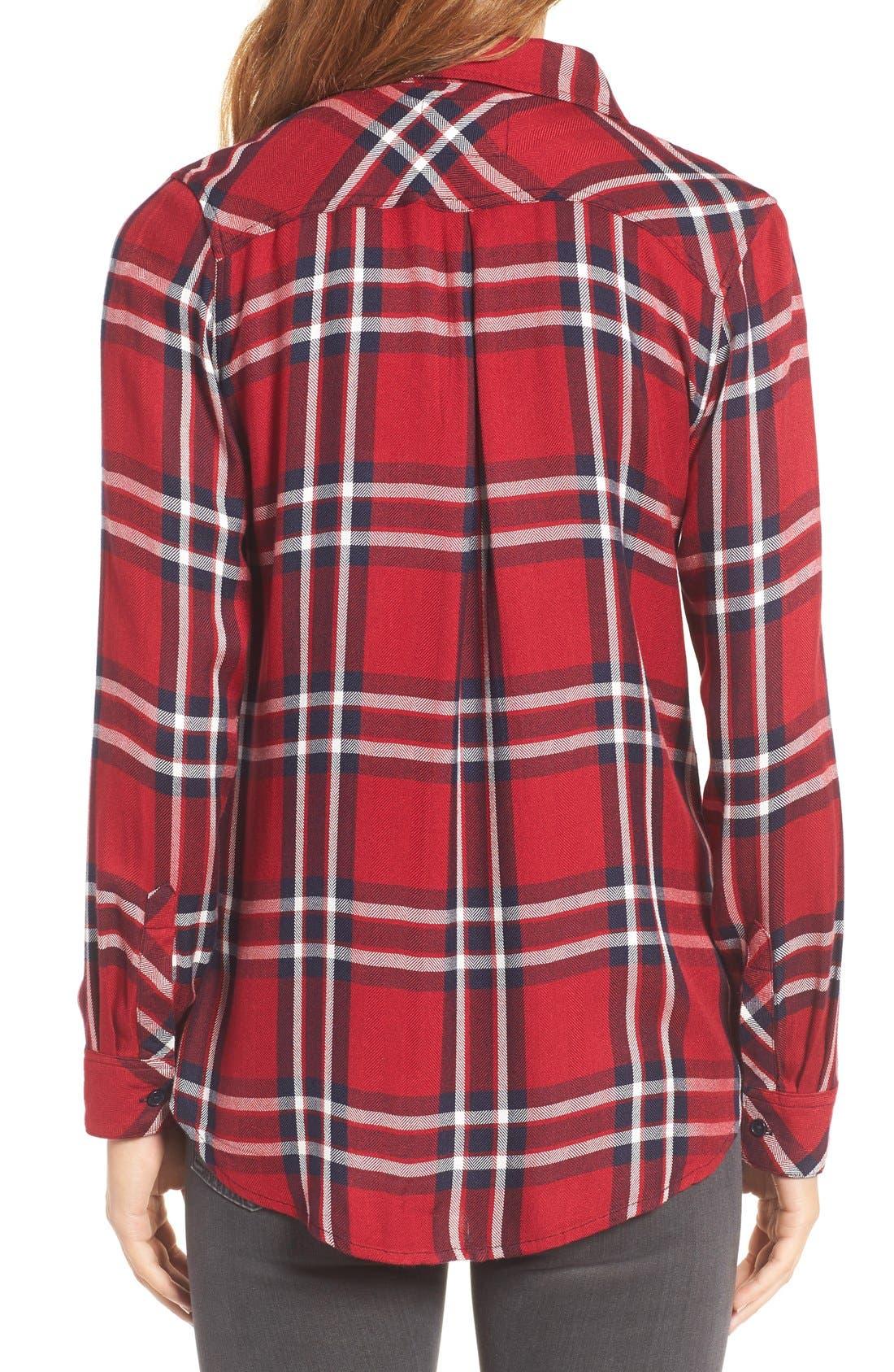 Hunter Plaid Shirt,                             Alternate thumbnail 407, color,