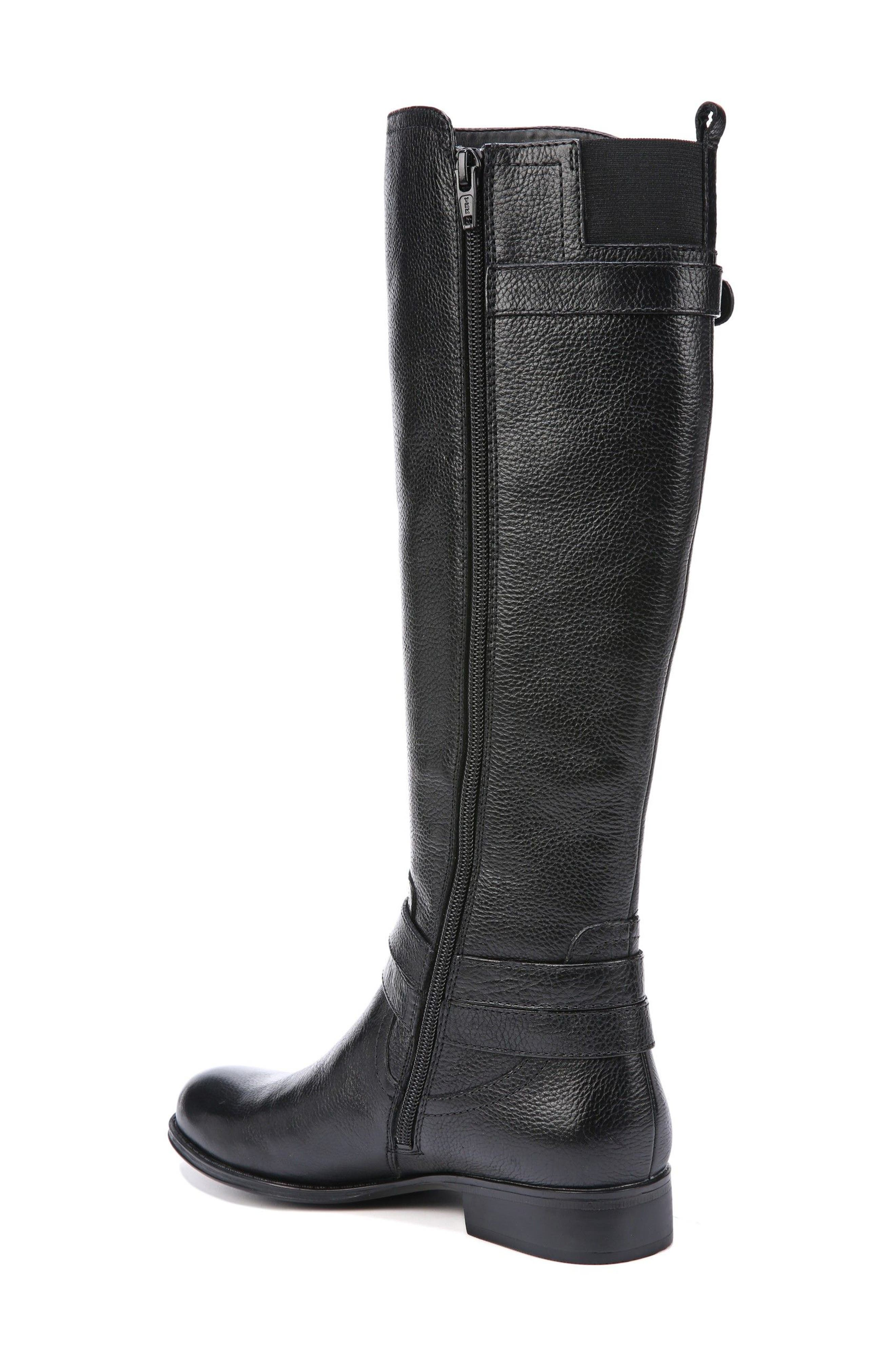 Jodee Knee High Boot,                             Alternate thumbnail 2, color,                             BLACK LEATHER