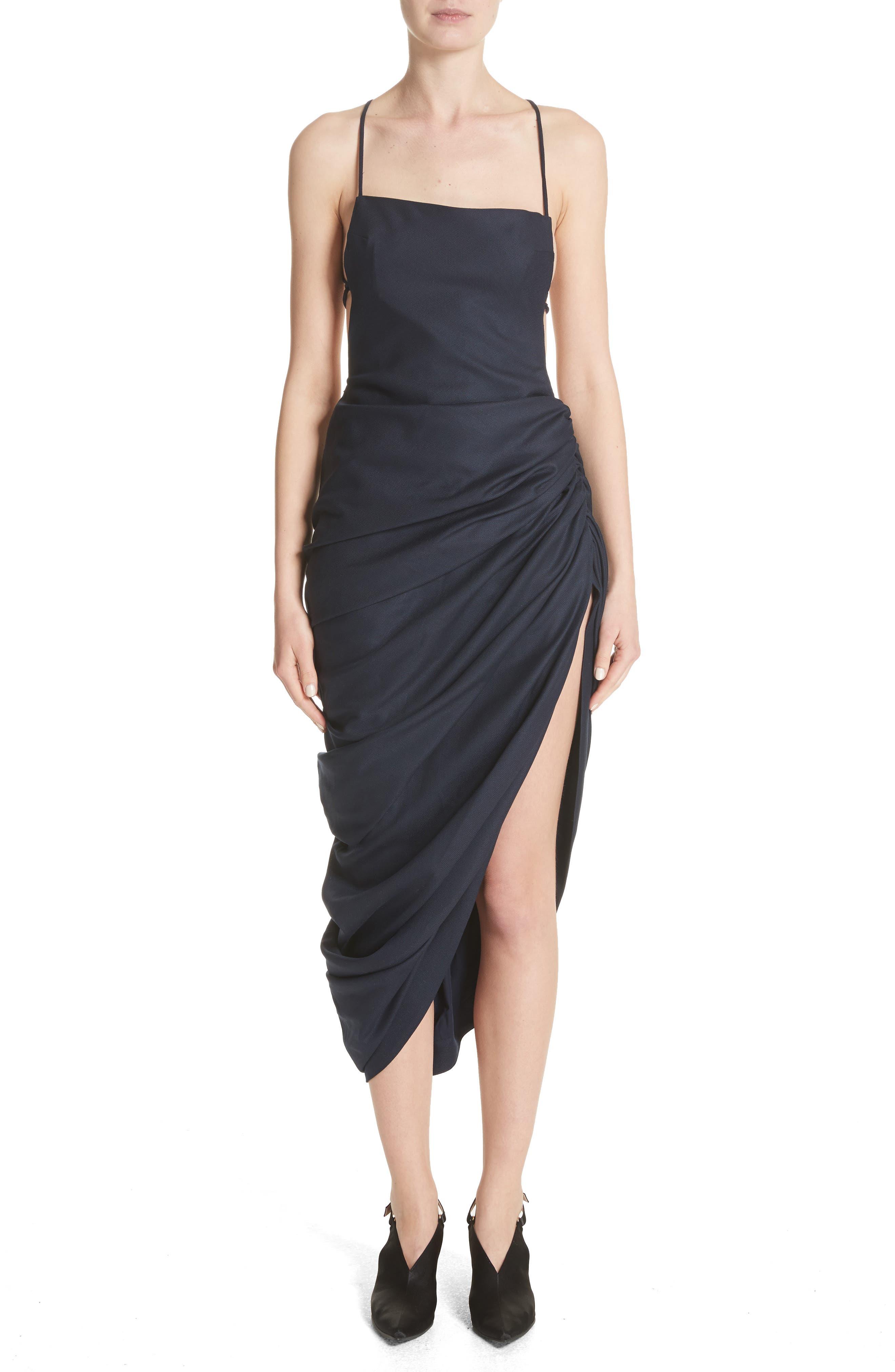 La Robe Saudade Longue Dress,                         Main,                         color,