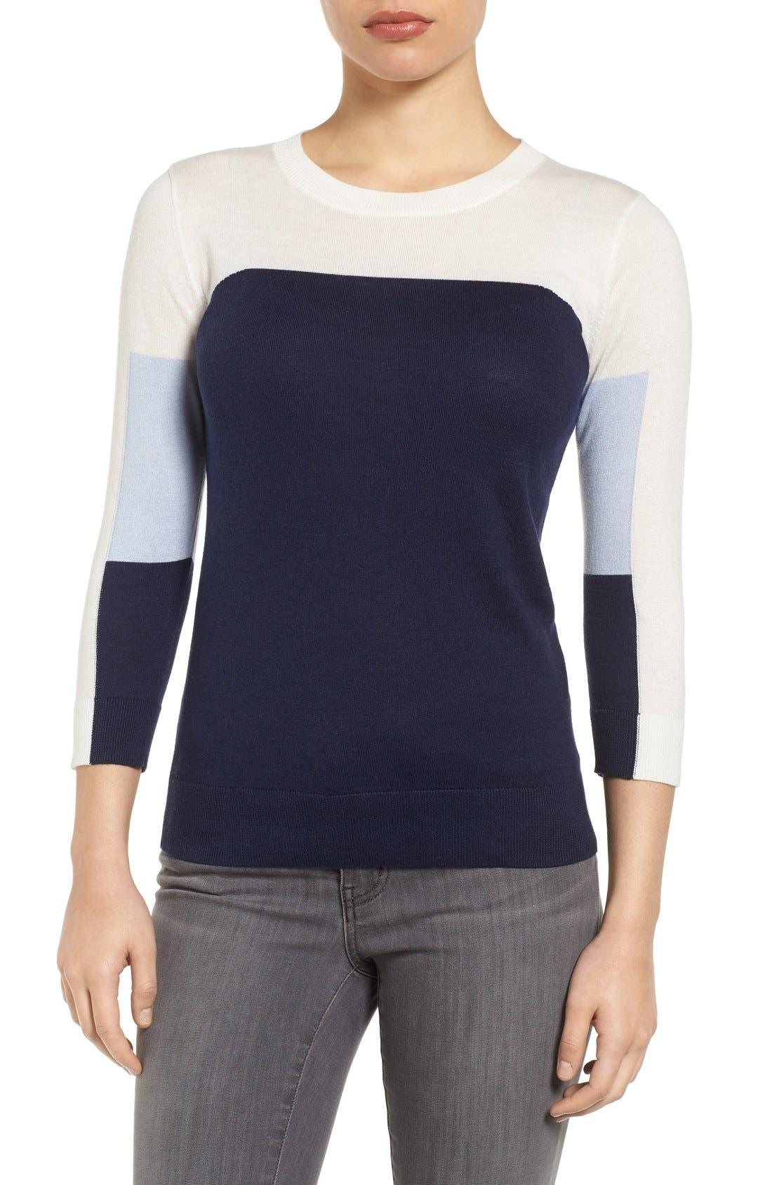 Cotton Blend Pullover,                             Main thumbnail 27, color,