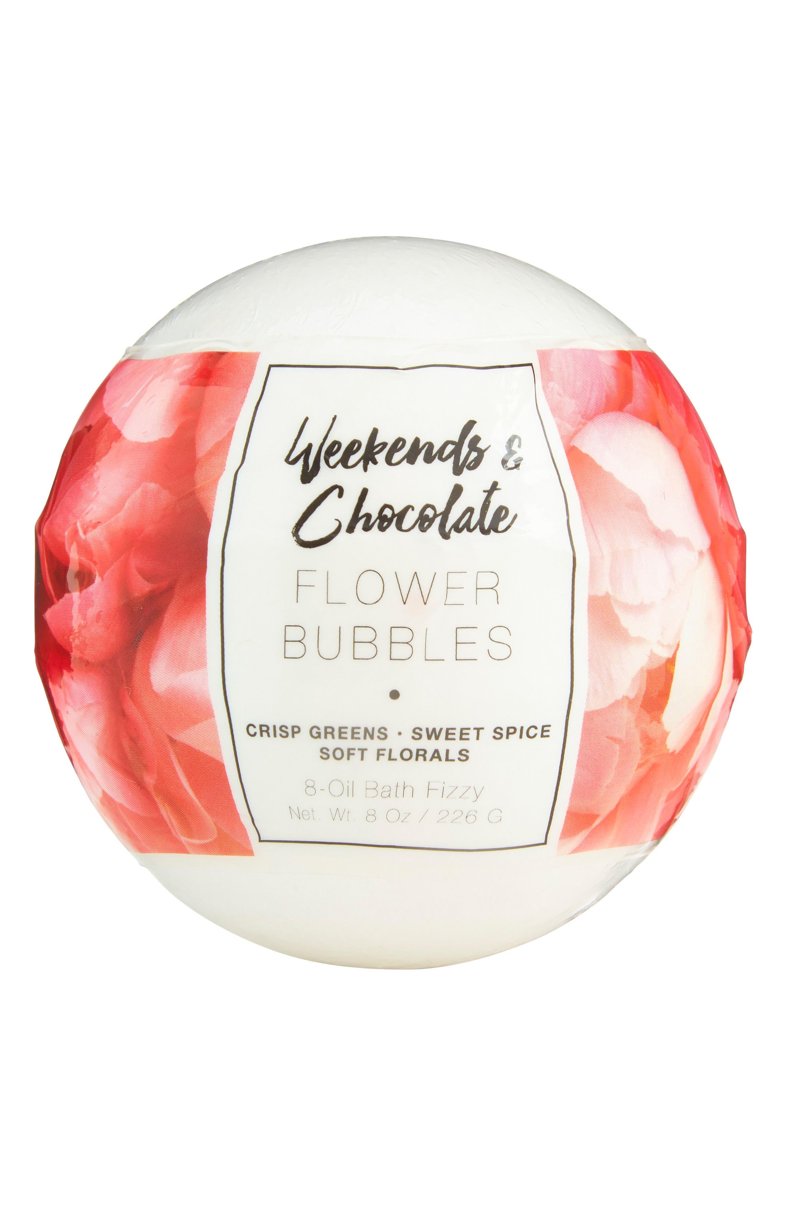 Flower Bubbles Bath Fizzy,                         Main,                         color,