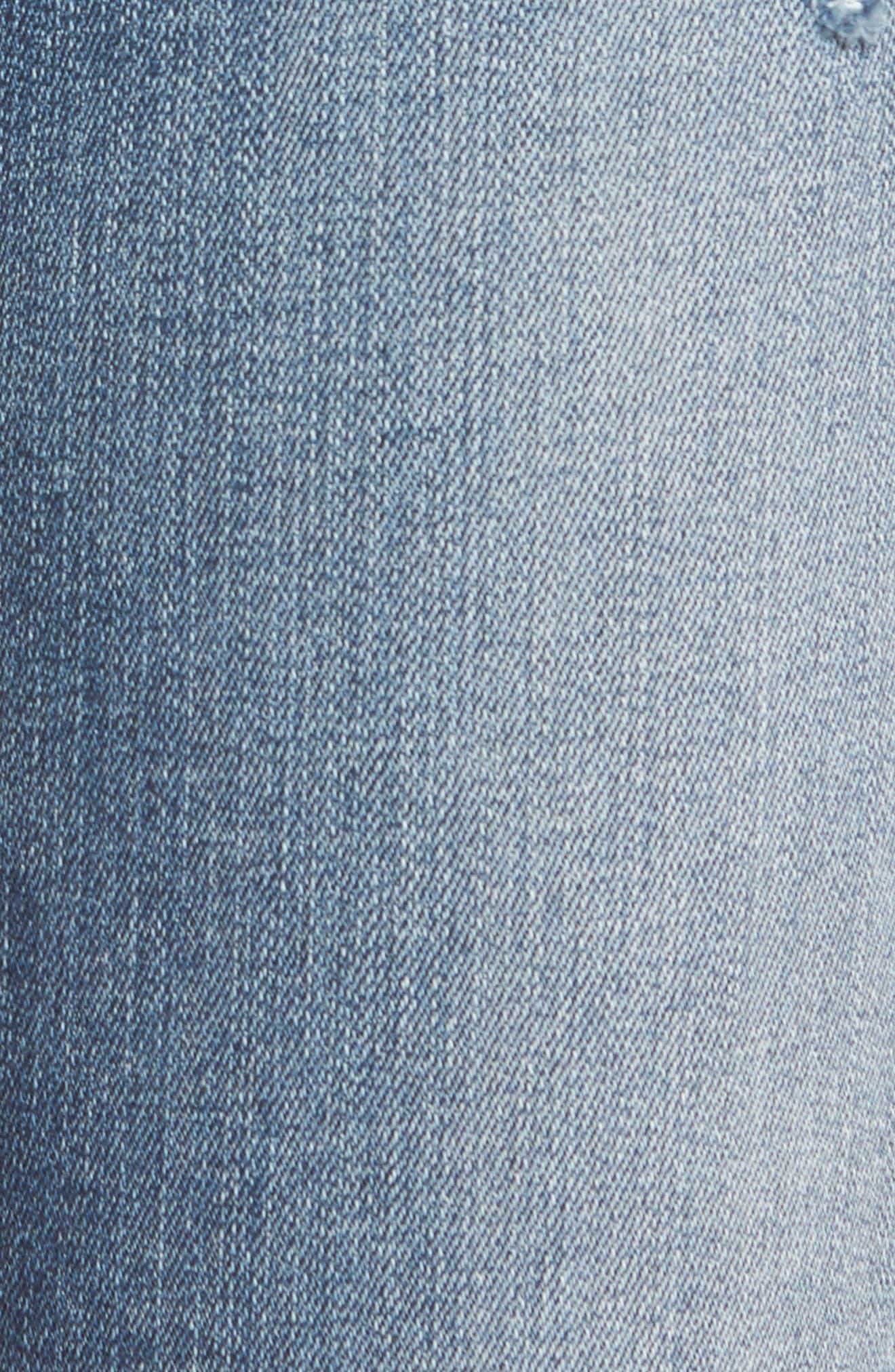 Taylor Colorblock Straight Leg Jeans,                             Alternate thumbnail 5, color,