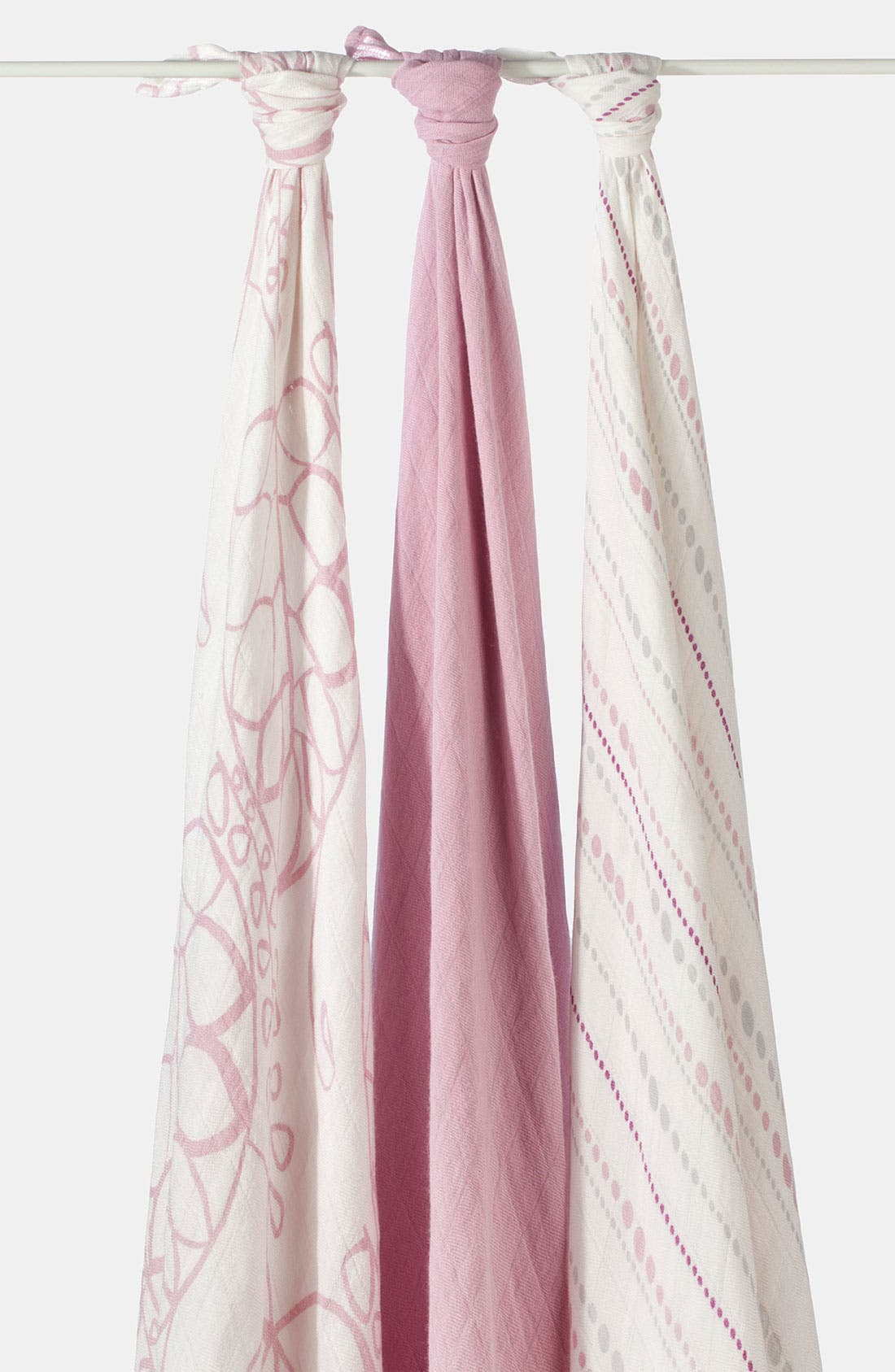 Swaddling Cloths, 3-Pack,                         Main,                         color, TRANQUILITY