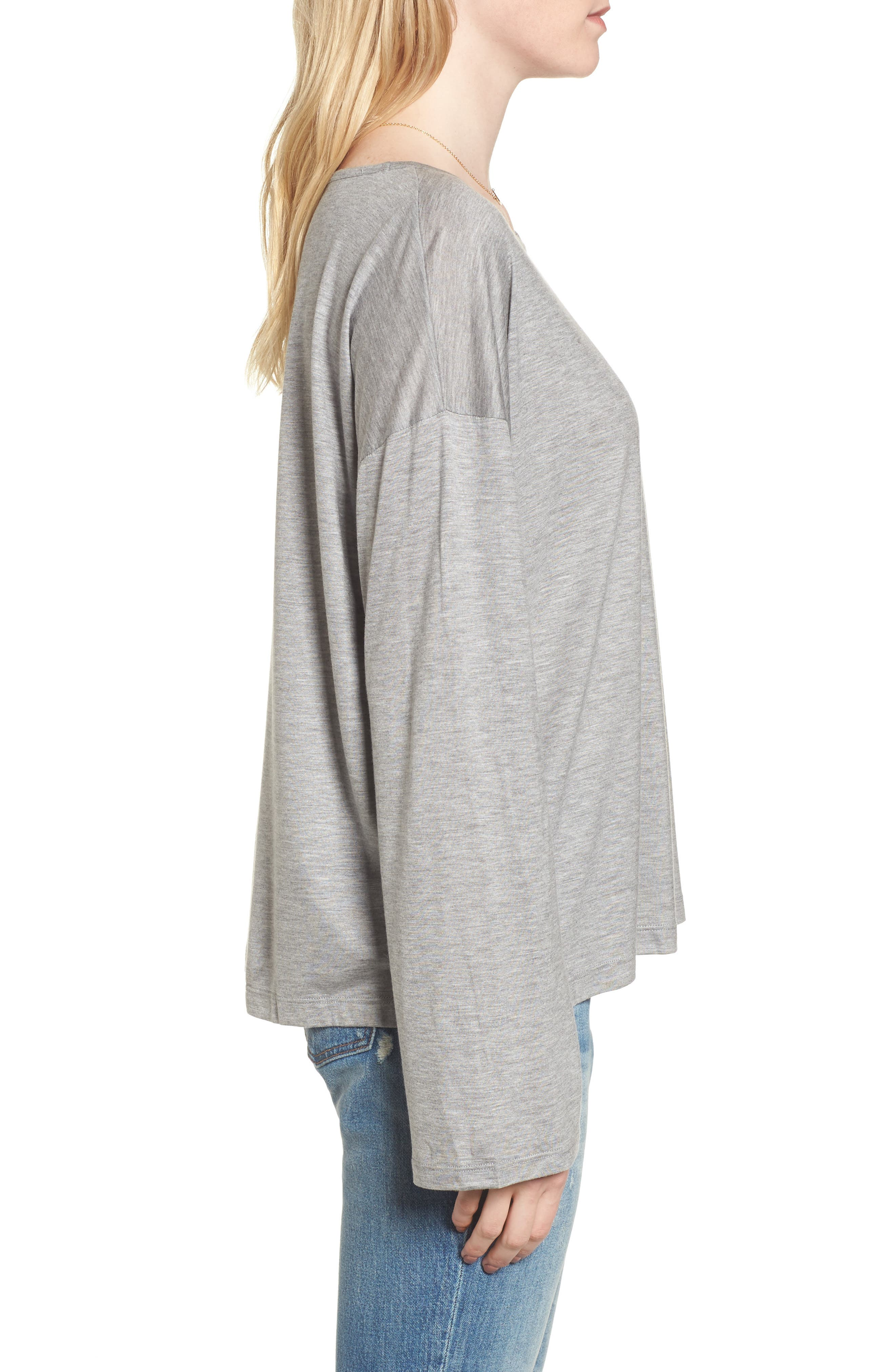 Libretto Wide Sleeve Top,                             Alternate thumbnail 10, color,