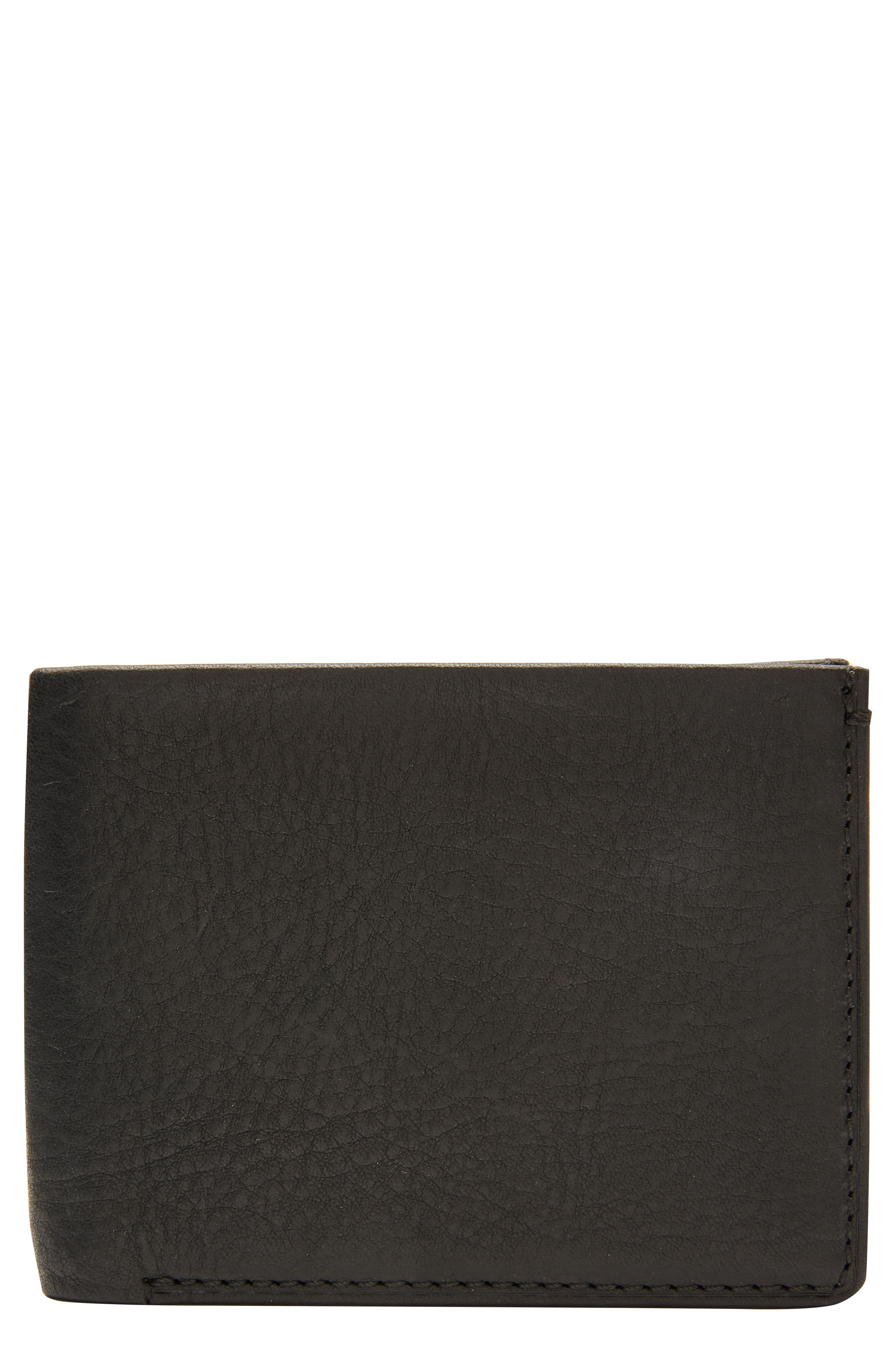 Selvedge Denim Wallet,                         Main,                         color, 001