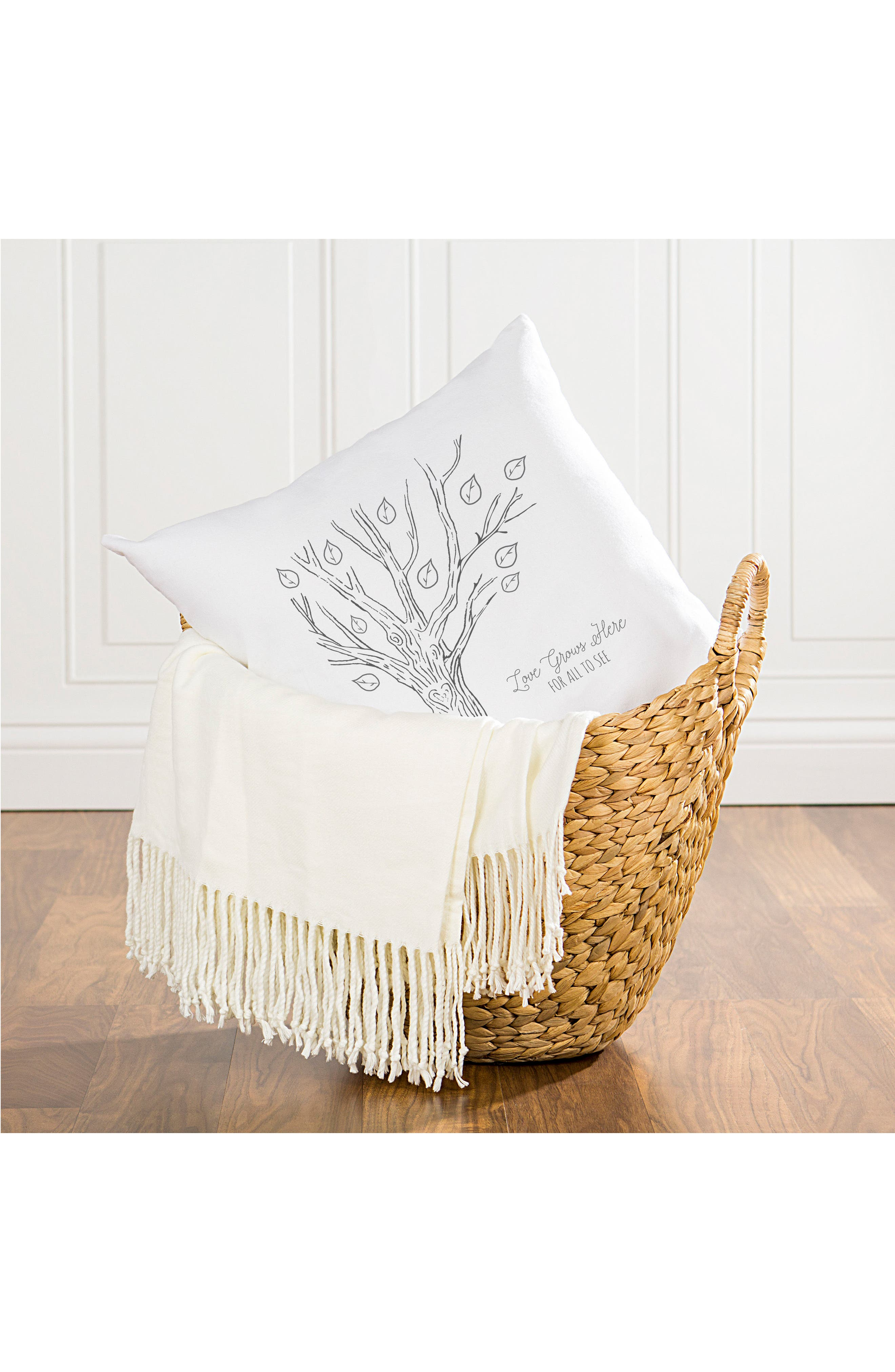 Family Tree Accent Pillow,                             Alternate thumbnail 5, color,                             001