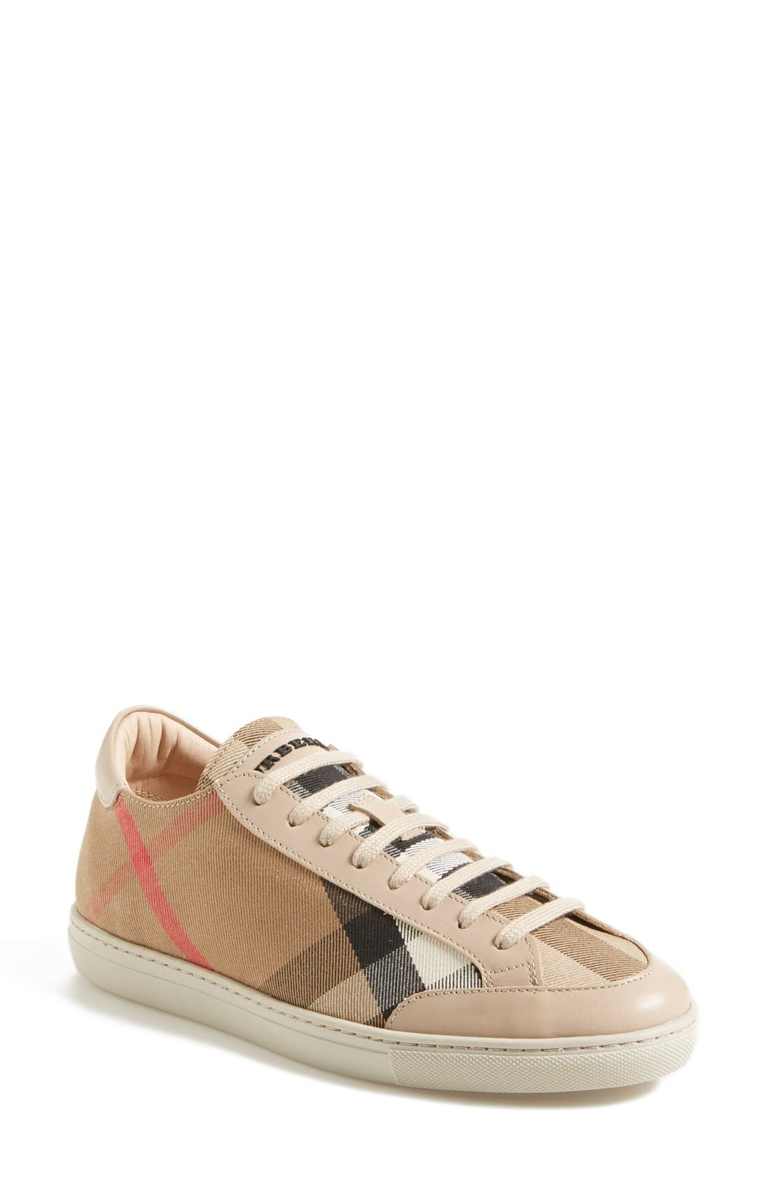 BURBERRY,                             'Hartfields' Sneaker,                             Main thumbnail 1, color,                             250