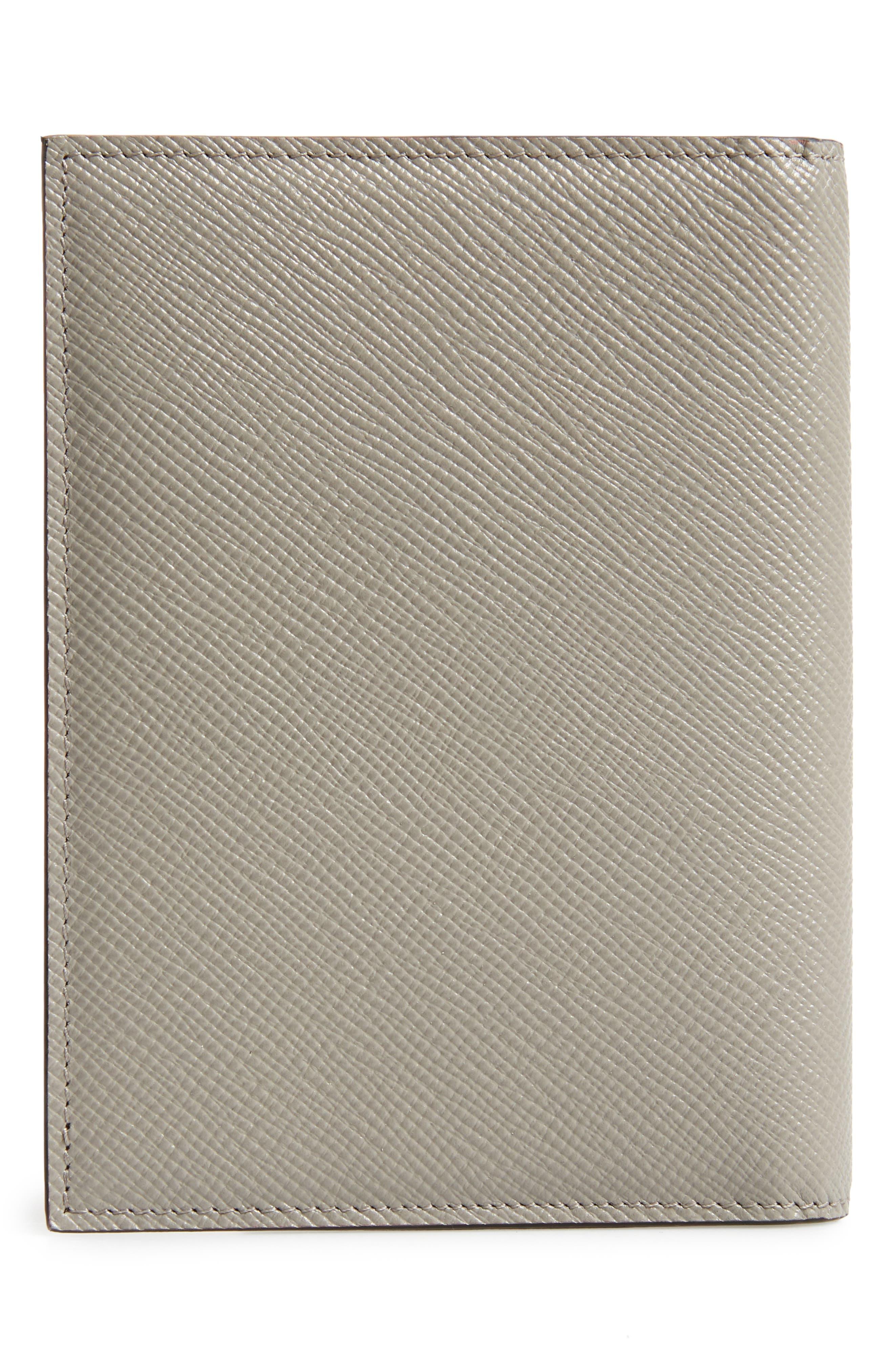 Evolution Leather Passport Case,                             Alternate thumbnail 4, color,                             020