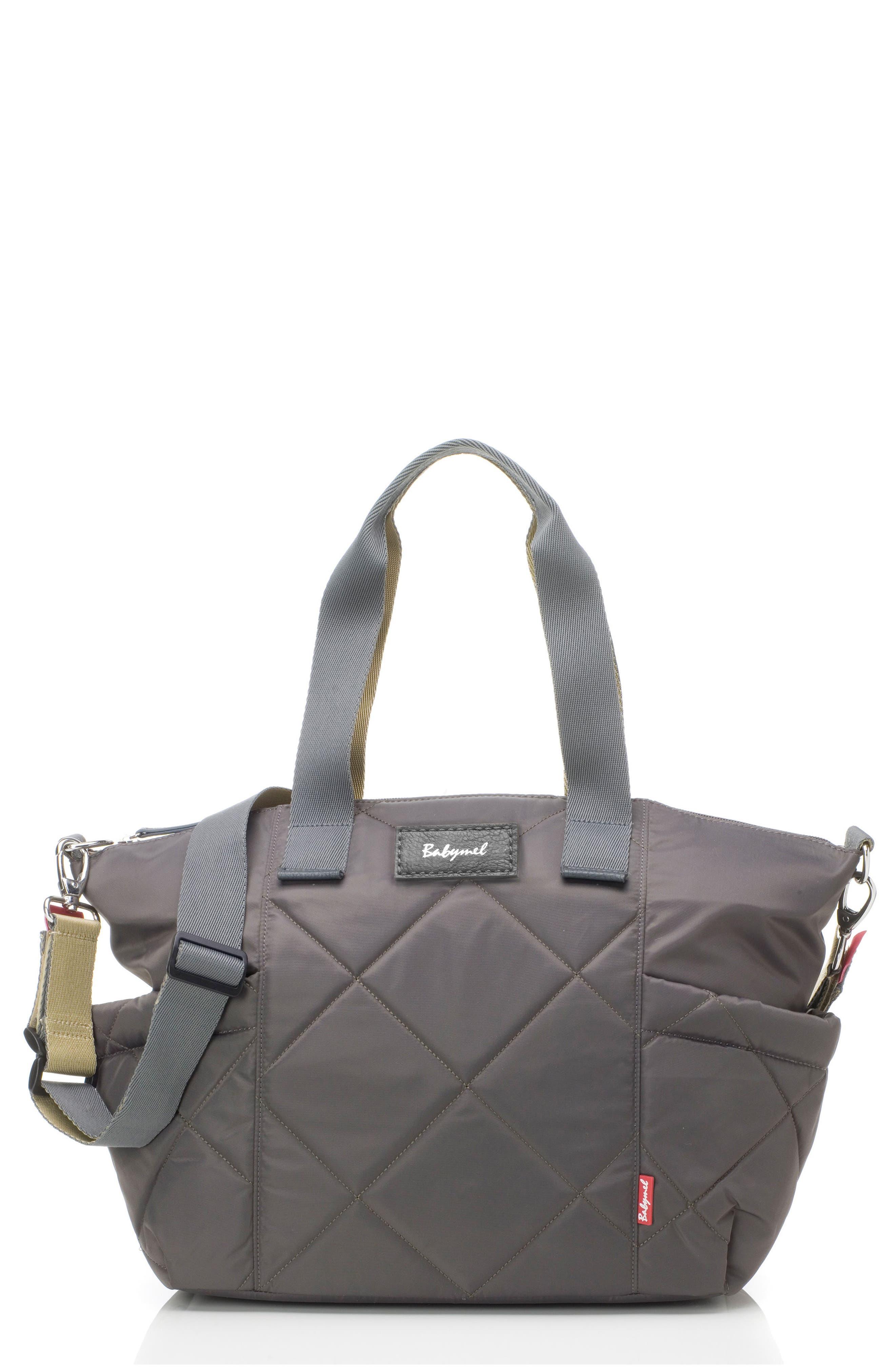 Evie Diaper Bag,                         Main,                         color, SLATE
