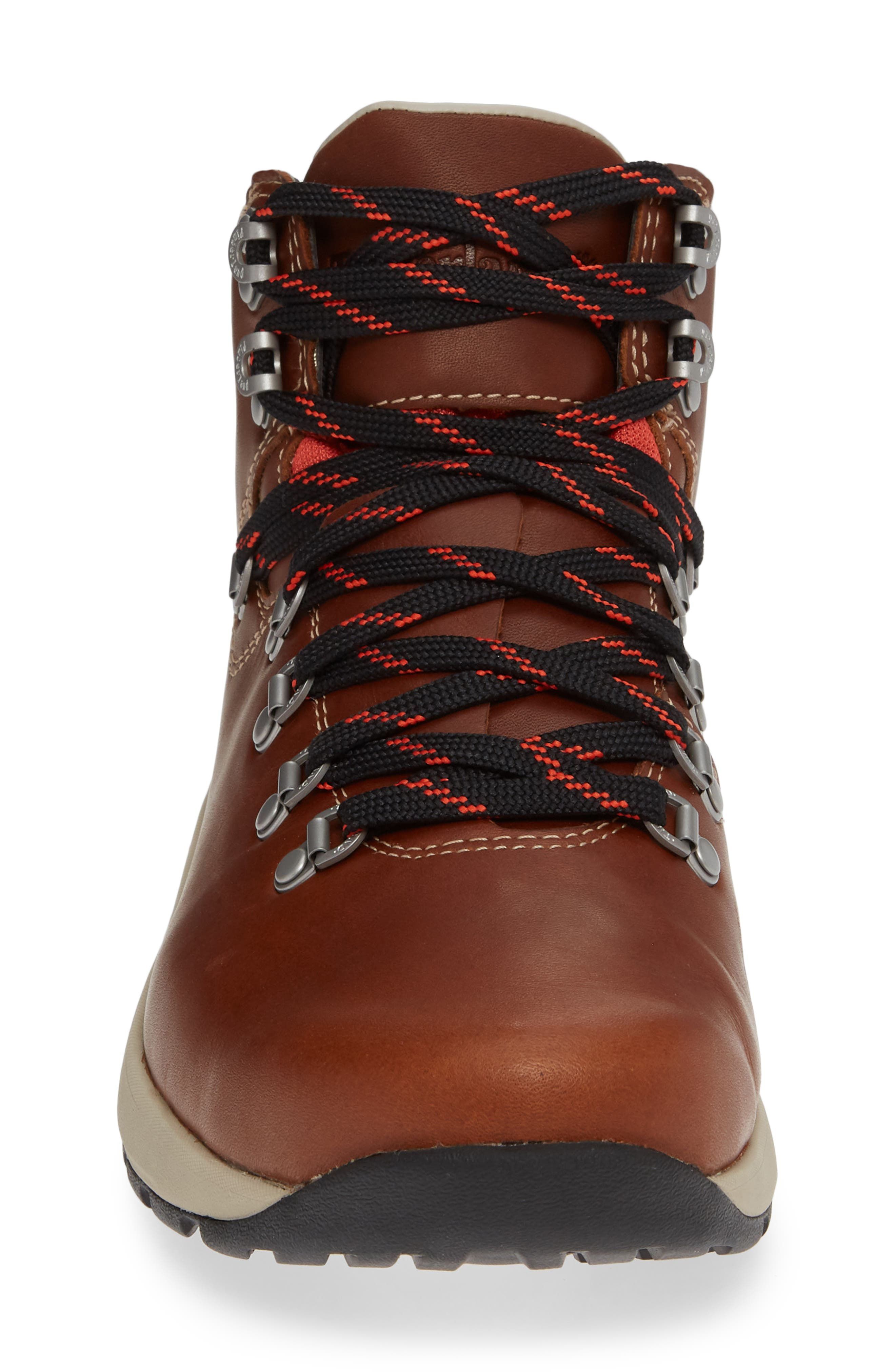 1978 Aerocore Waterproof Hiking Boot,                             Alternate thumbnail 4, color,                             BROWN LEATHER
