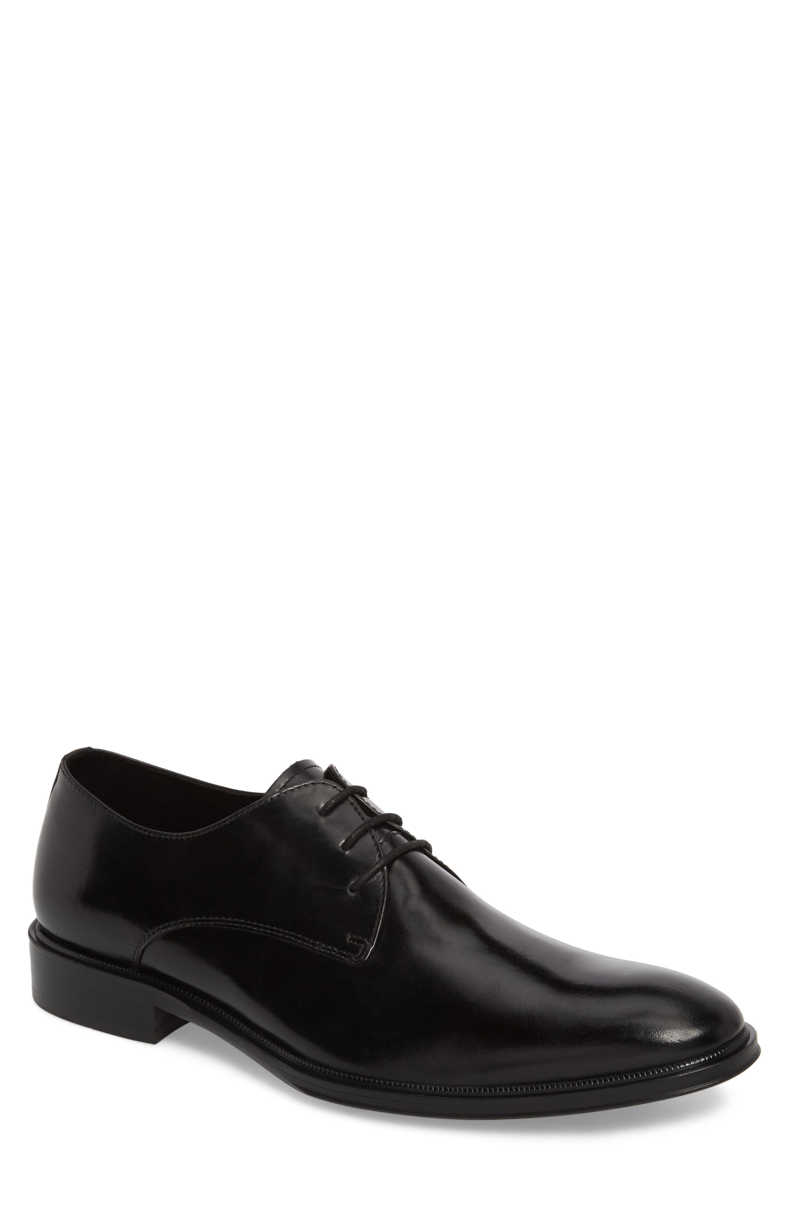 Kenneth Cole Tully Plain Toe Derby,                             Main thumbnail 1, color,                             001