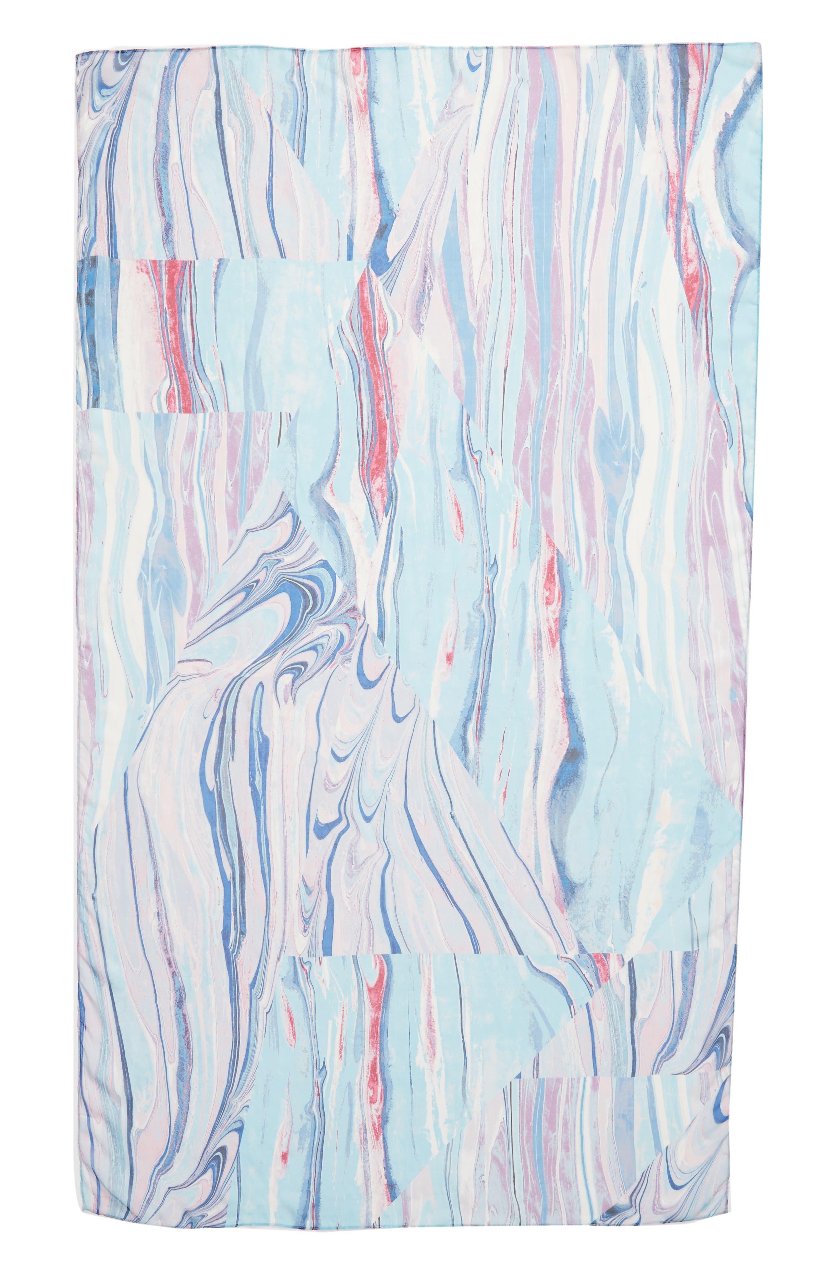 Silk Chiffon Oblong Scarf,                             Alternate thumbnail 44, color,