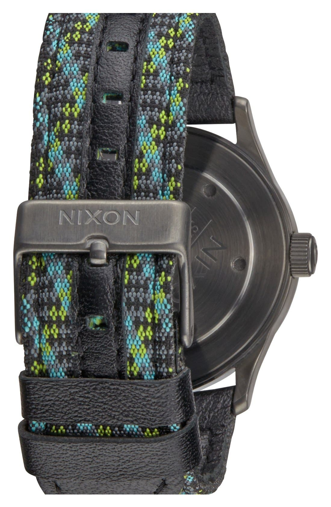 'The Sentry 38' Leather Strap Watch, 38mm,                             Alternate thumbnail 19, color,