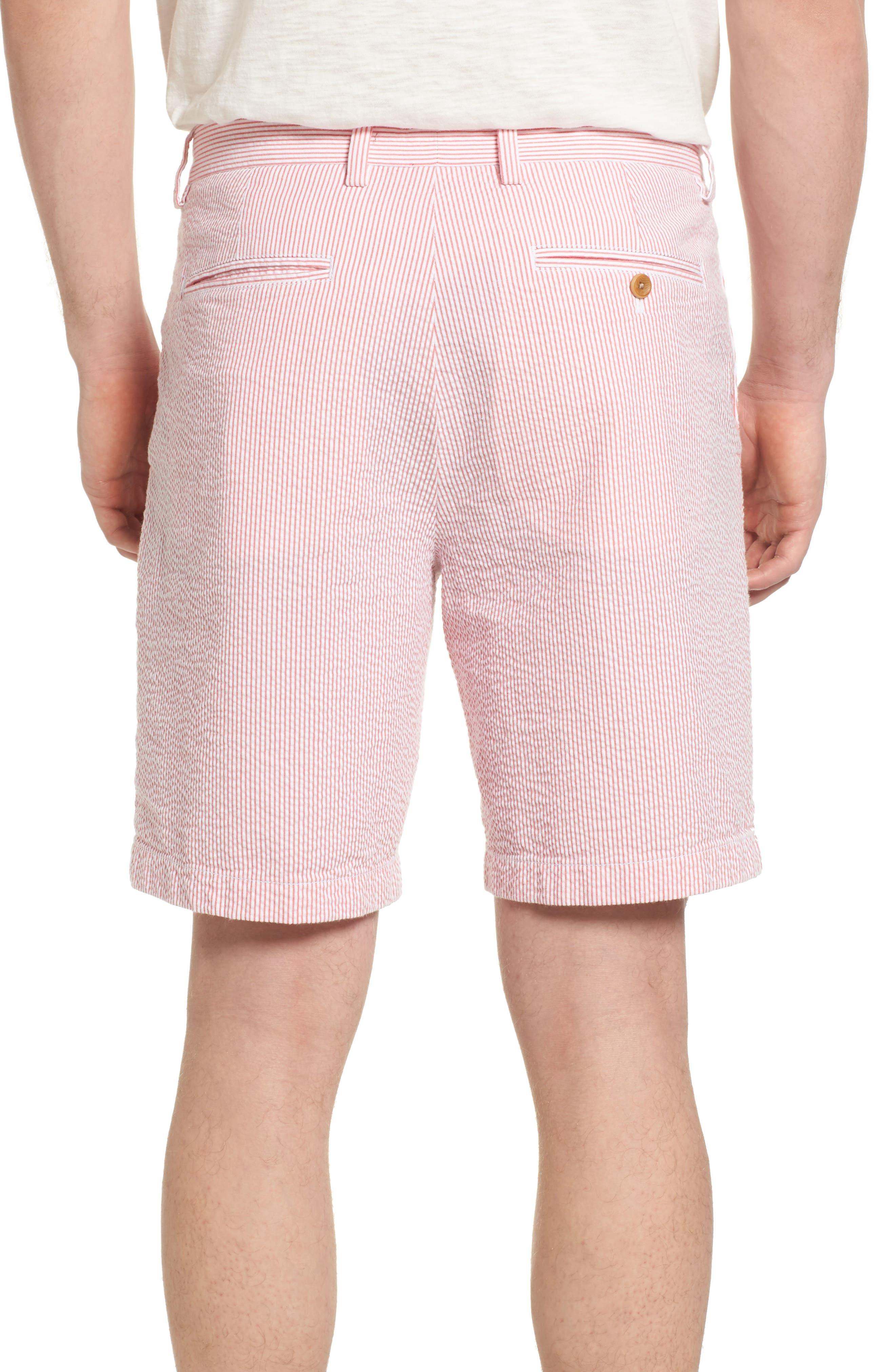 9 Inch Seersucker Shorts,                             Alternate thumbnail 4, color,