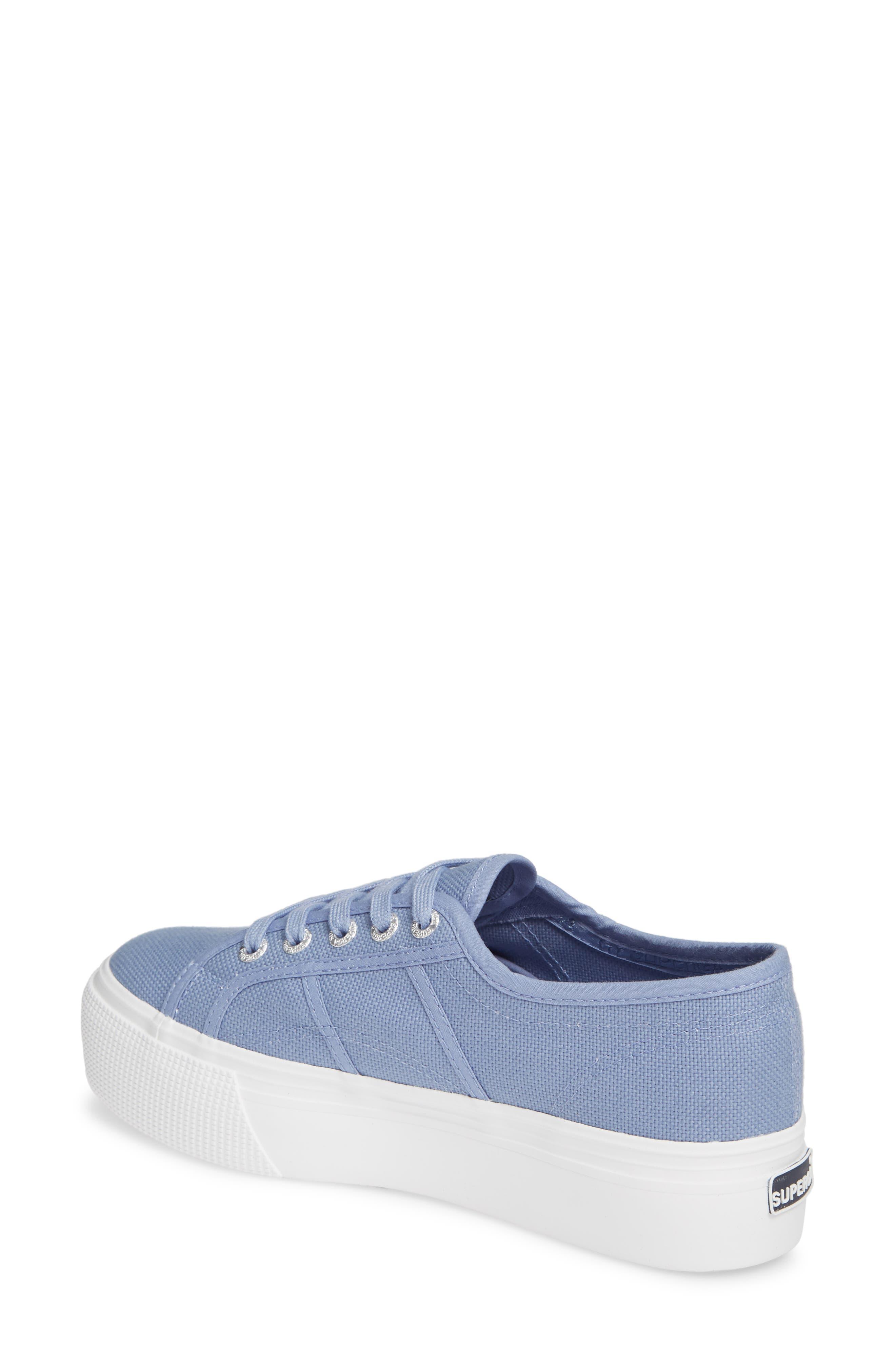 'Acot Linea' Sneaker,                             Alternate thumbnail 2, color,                             BLUE/ LIGHT PURPLE