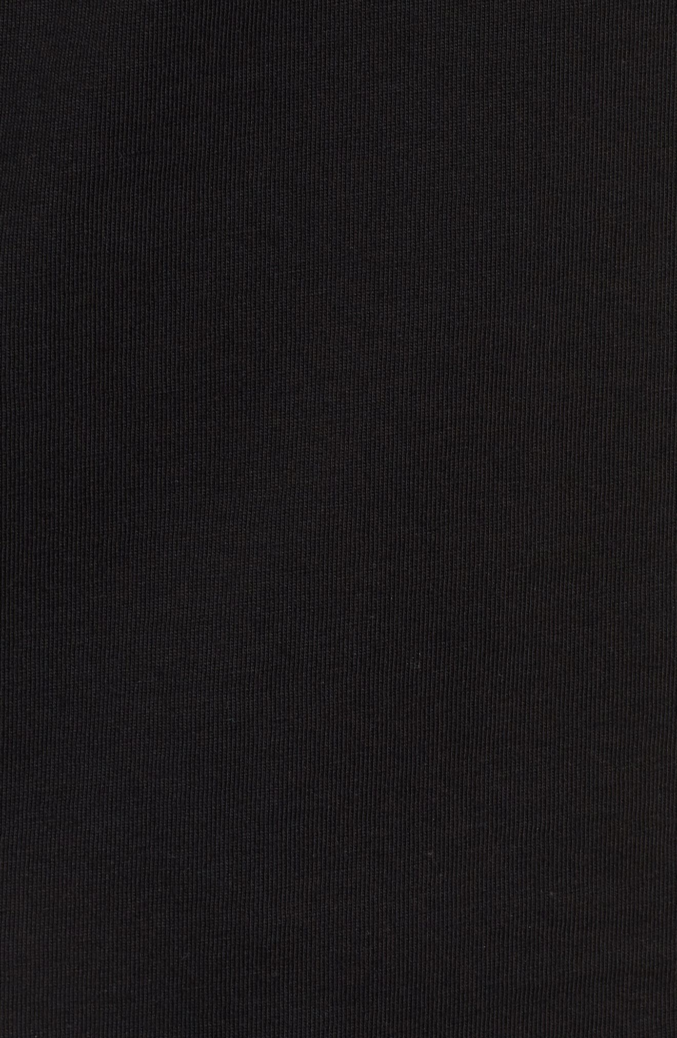 Super PUMA Allover Graphic Regular Fit T-Shirt,                             Alternate thumbnail 5, color,                             COTTON BLACK