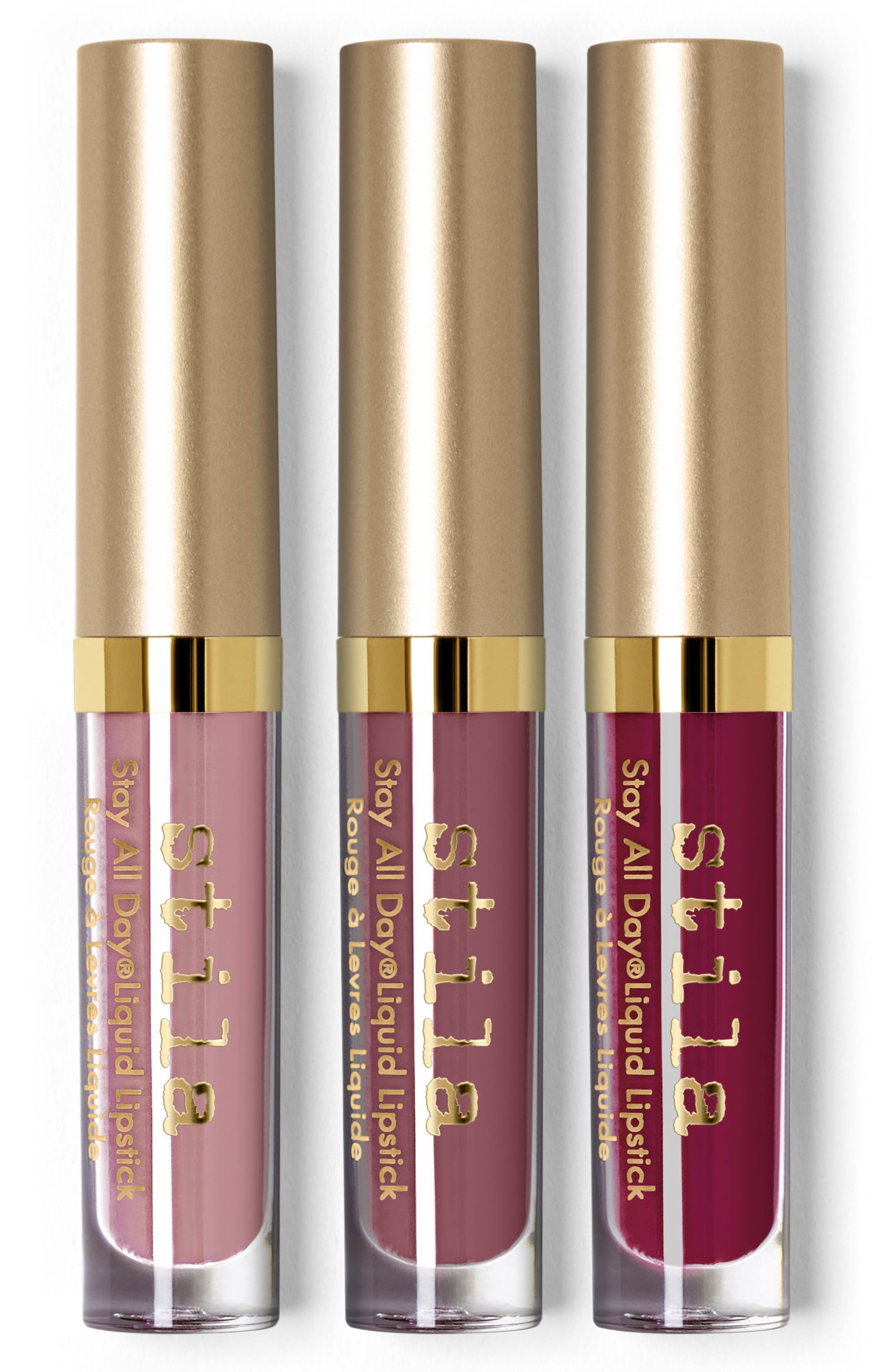play it cool stay all day liquid lipstick set,                             Alternate thumbnail 3, color,                             000