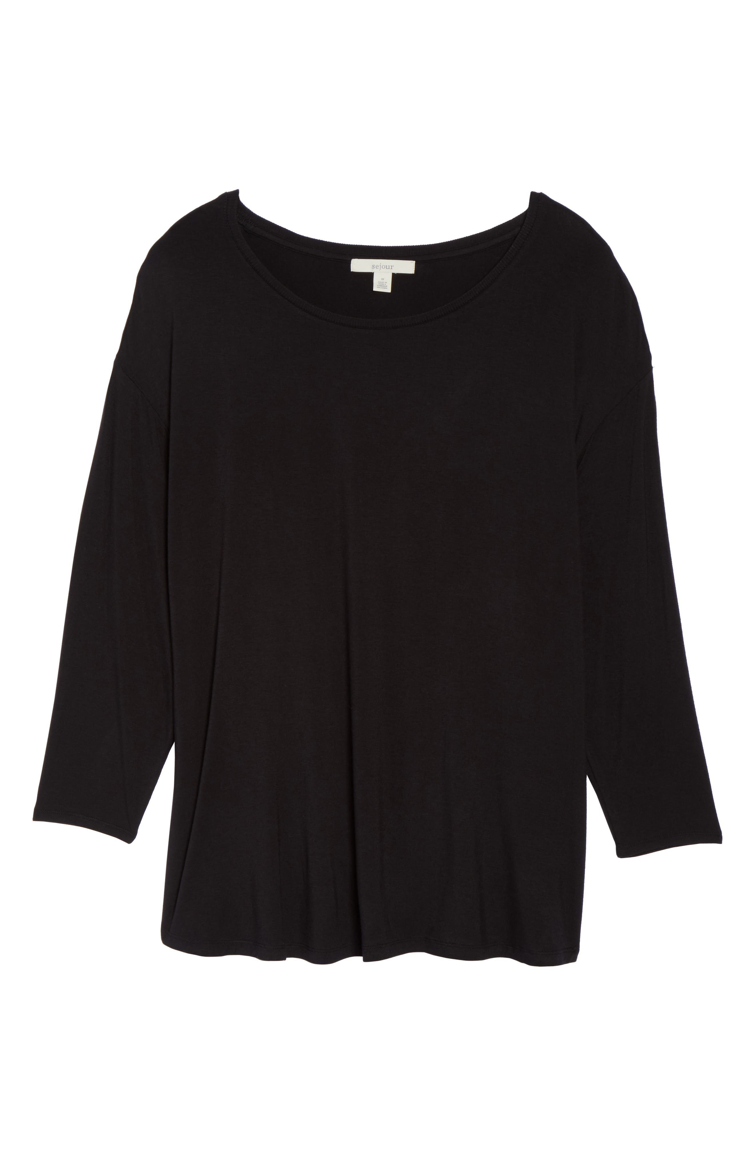 Ribbed Bell Sleeve Sweater,                             Alternate thumbnail 11, color,