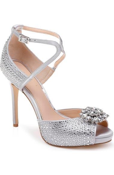 e305ffd6a5ad44 Jewel Badgley Mischka Zaina Platform Sandal (Women)