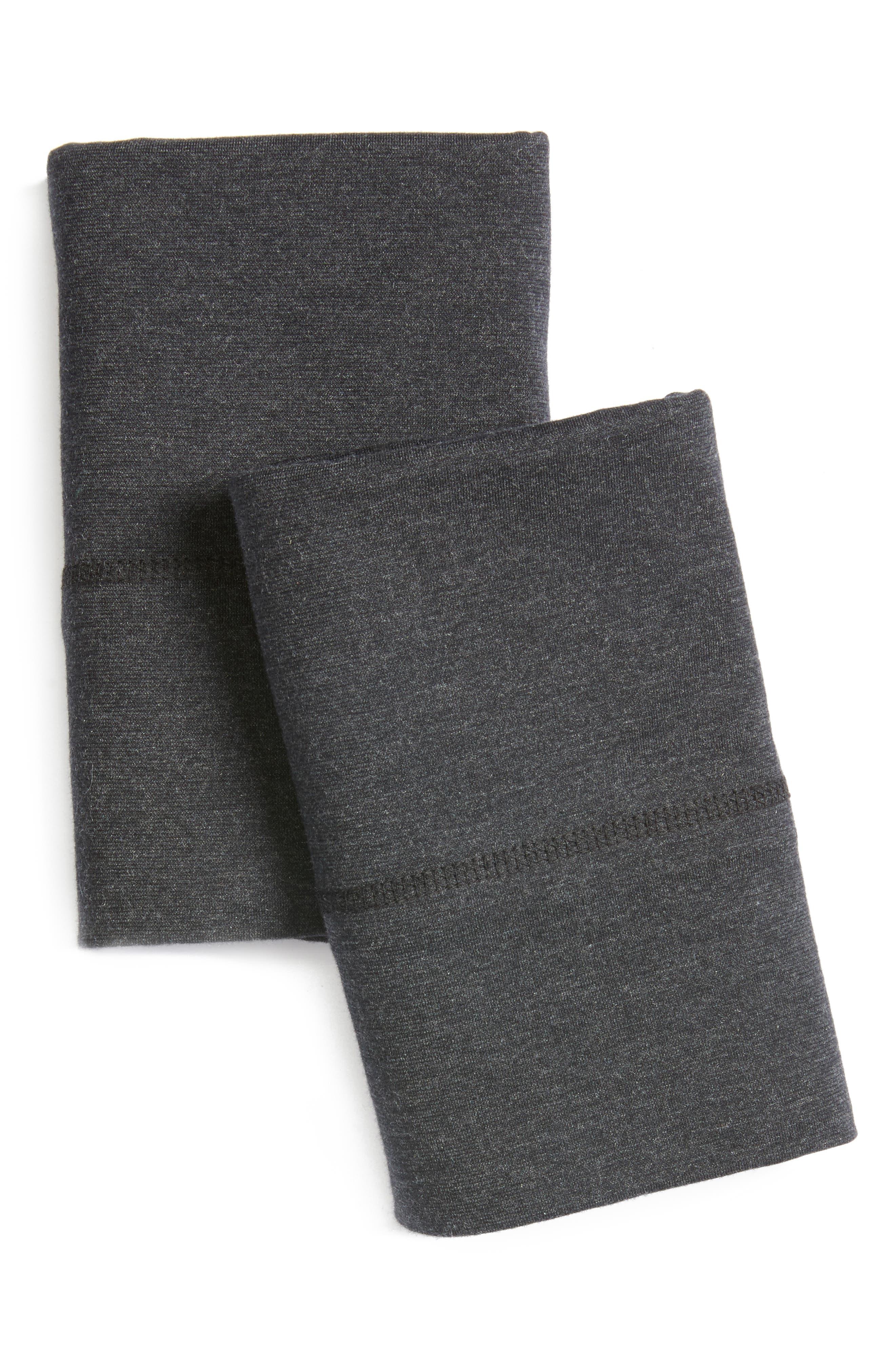Cotton & Modal Jersey Pillowcases,                         Main,                         color,
