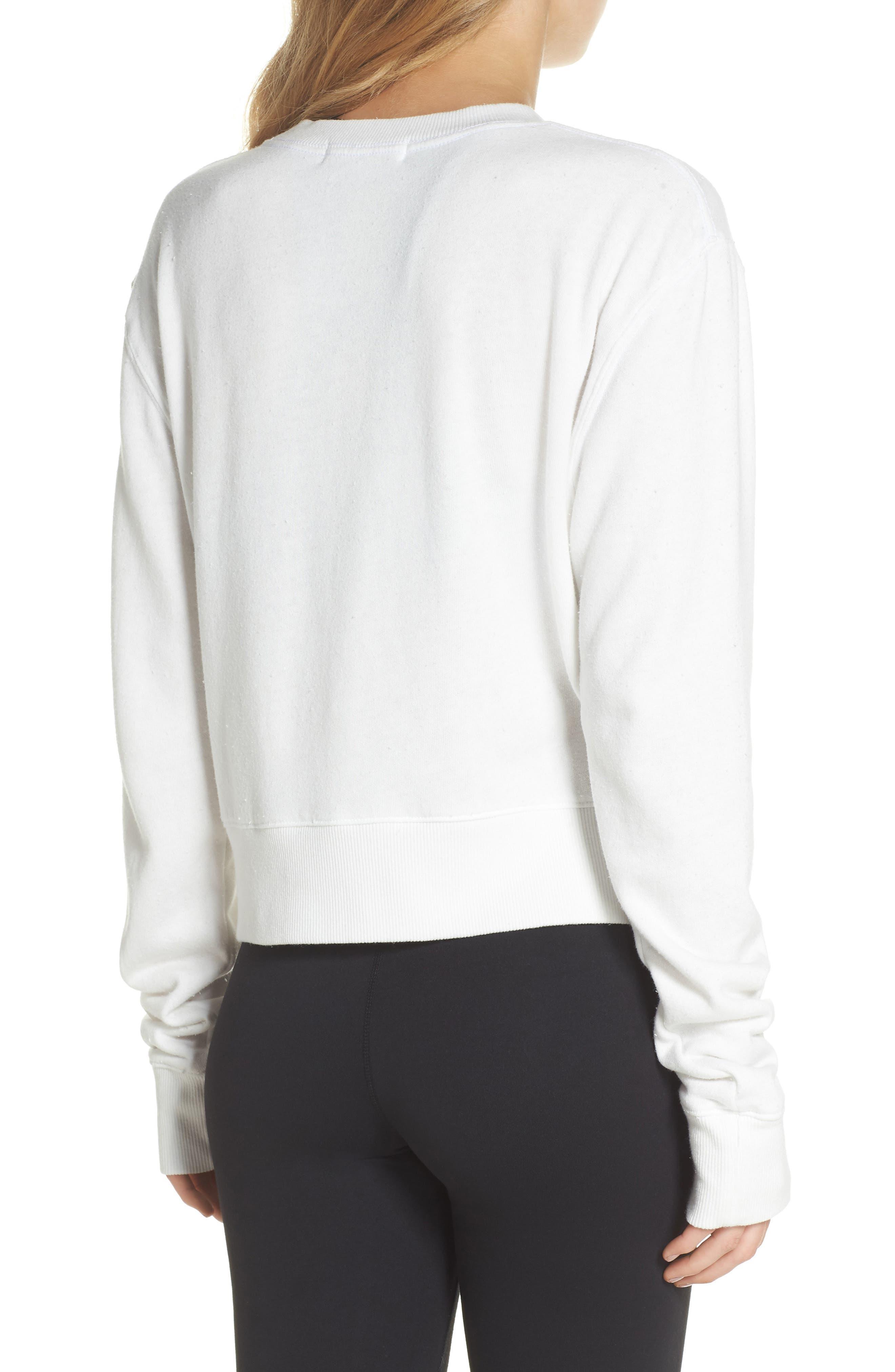 Golden State Crop Sweatshirt,                             Alternate thumbnail 2, color,                             108