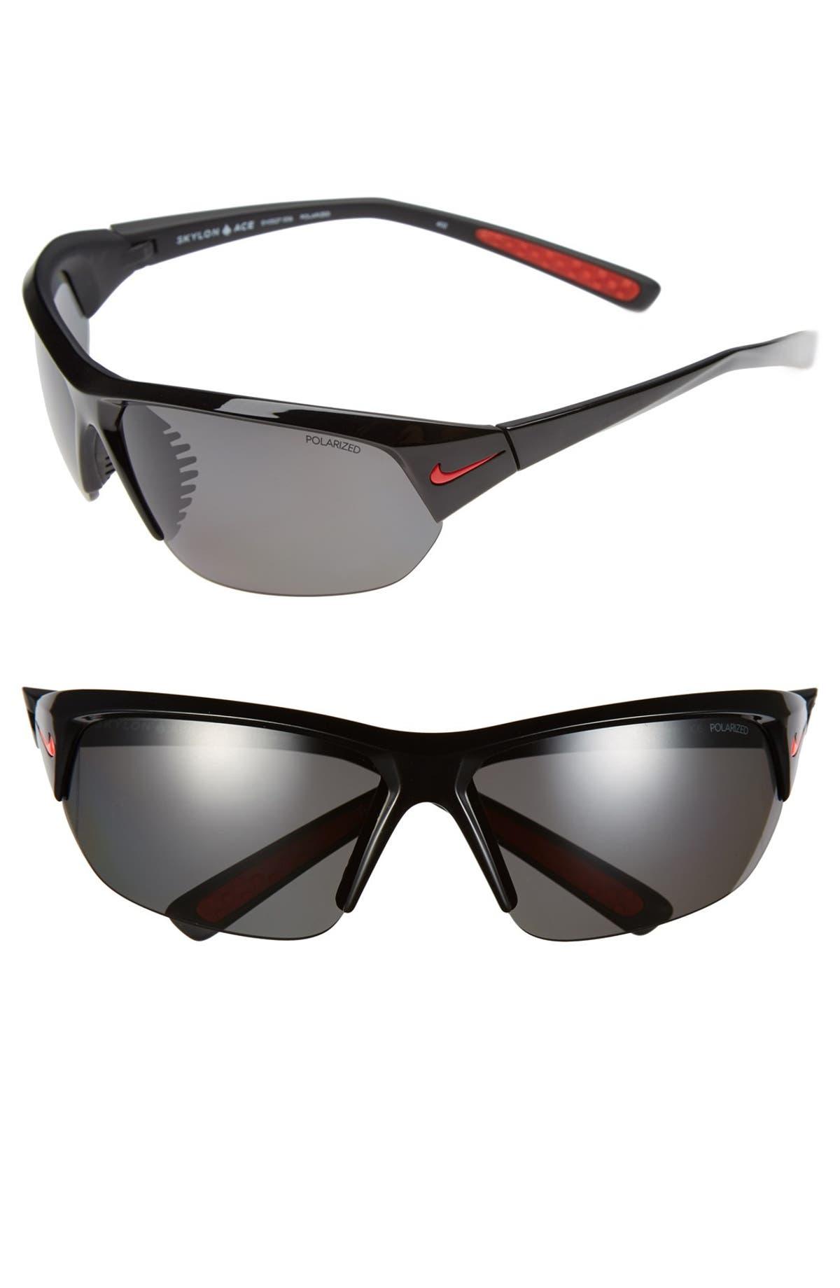2cb8cc984a3 Nike  Skylon Ace  69mm Polarized Sunglasses