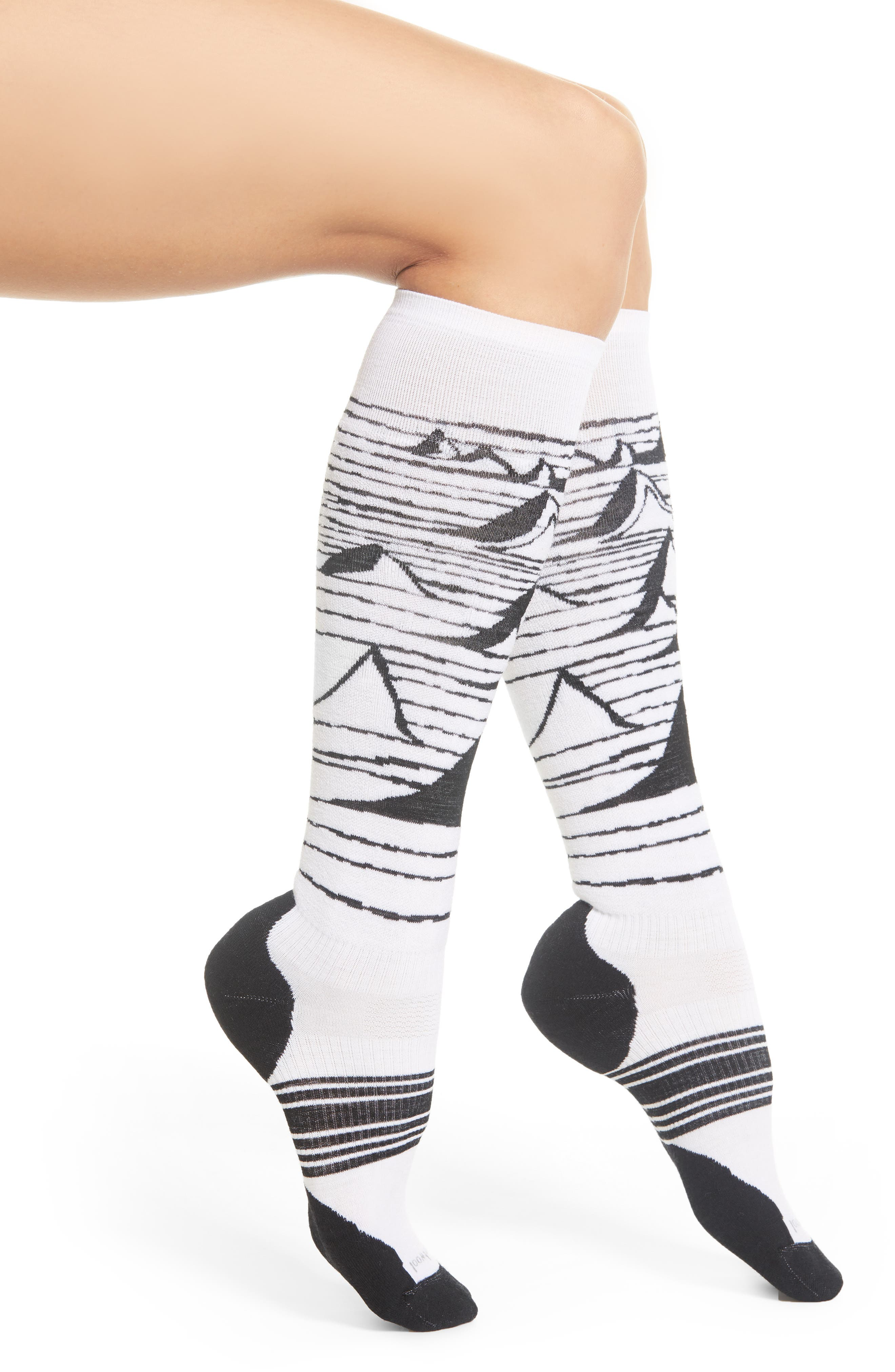 PhD<sup>®</sup> Slopestyle Light Elite Ski Socks,                             Main thumbnail 1, color,                             100