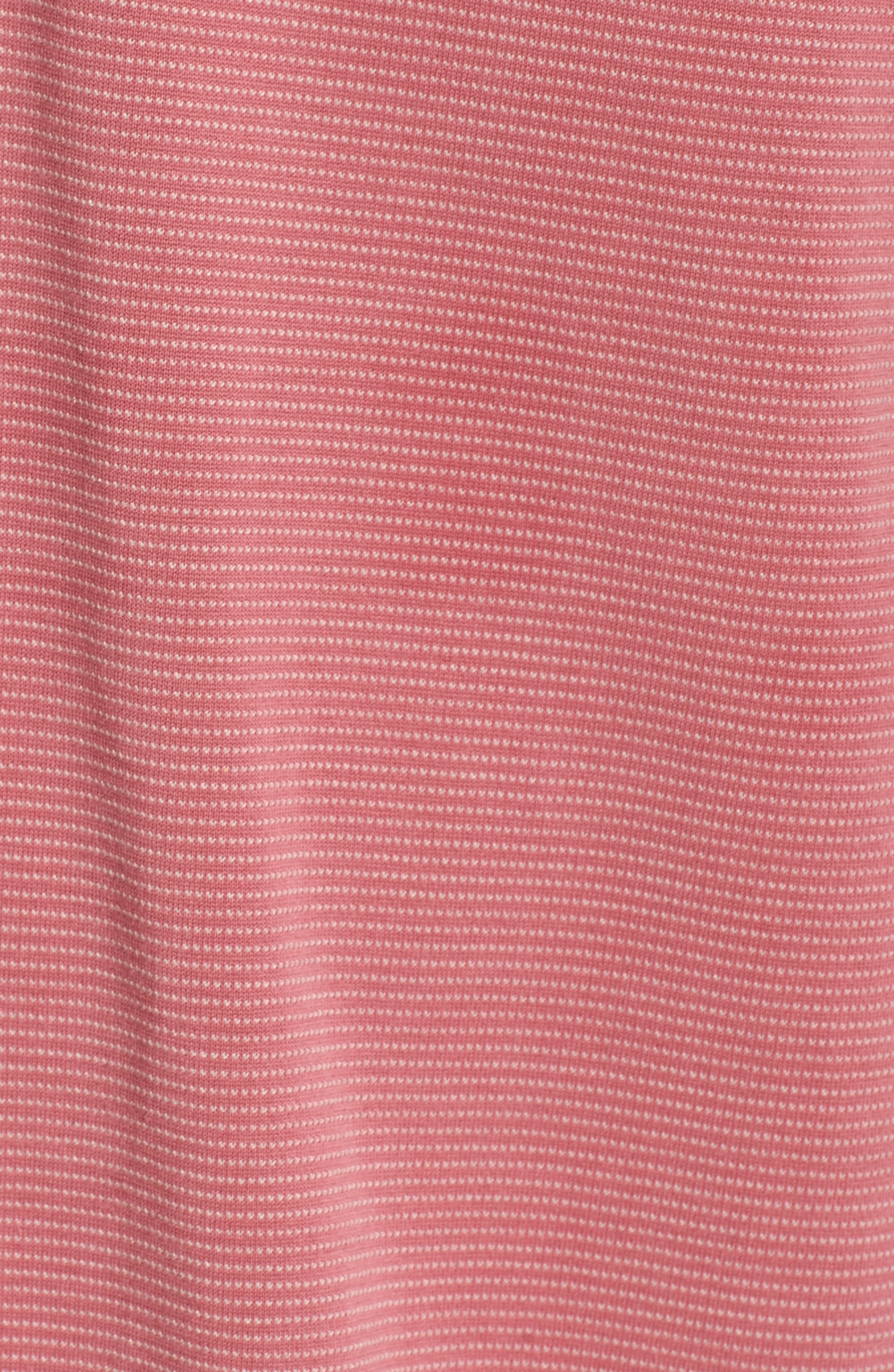 Chumm Trim Fit Birdseye Polo,                             Alternate thumbnail 5, color,                             PINK
