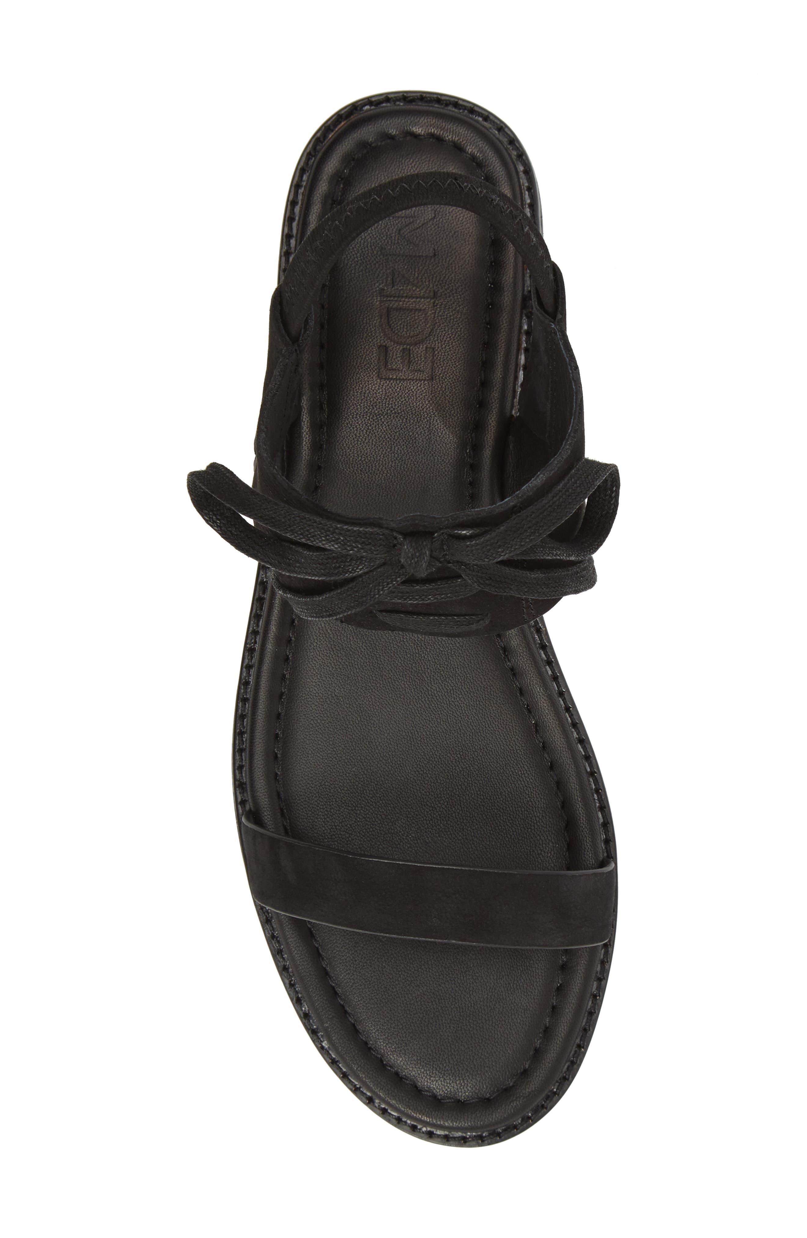 M4D3 Hailey Slingback Sandal,                             Alternate thumbnail 5, color,                             001