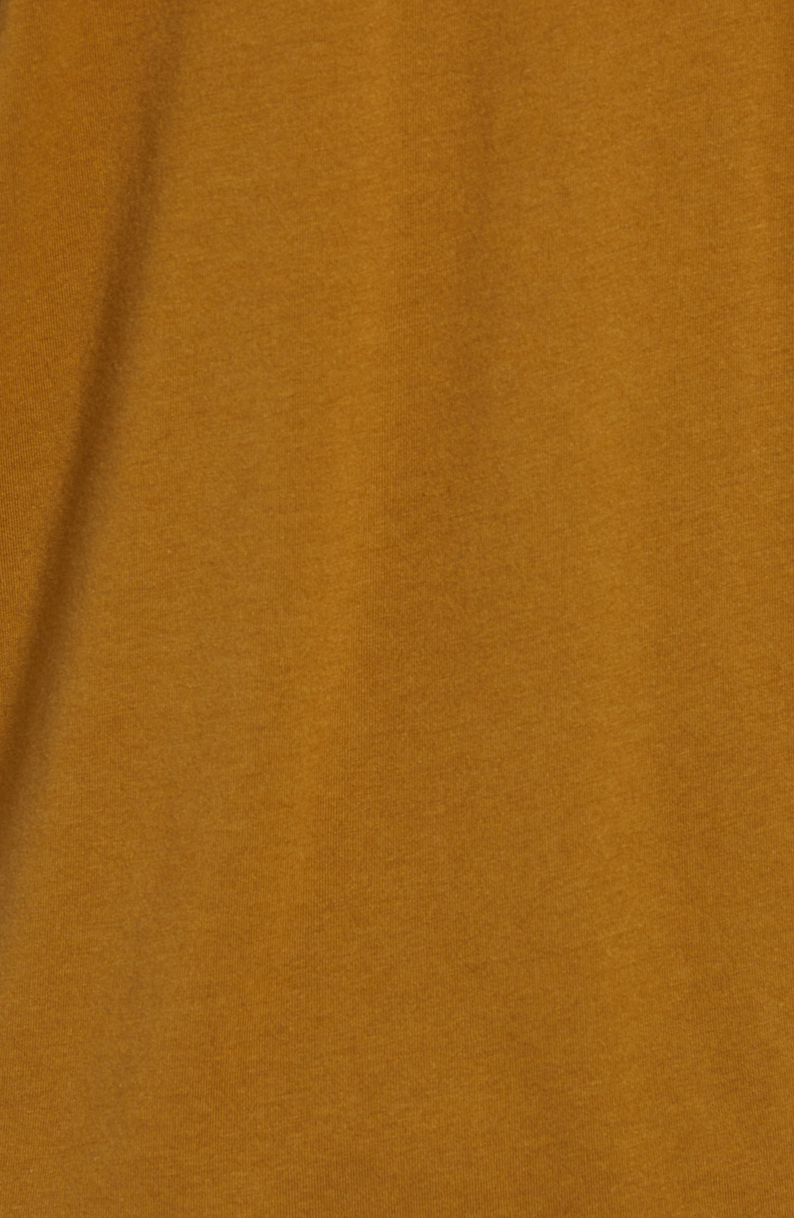 Bryce Slim Fit T-Shirt,                             Alternate thumbnail 5, color,                             GOLDEN OLIVE