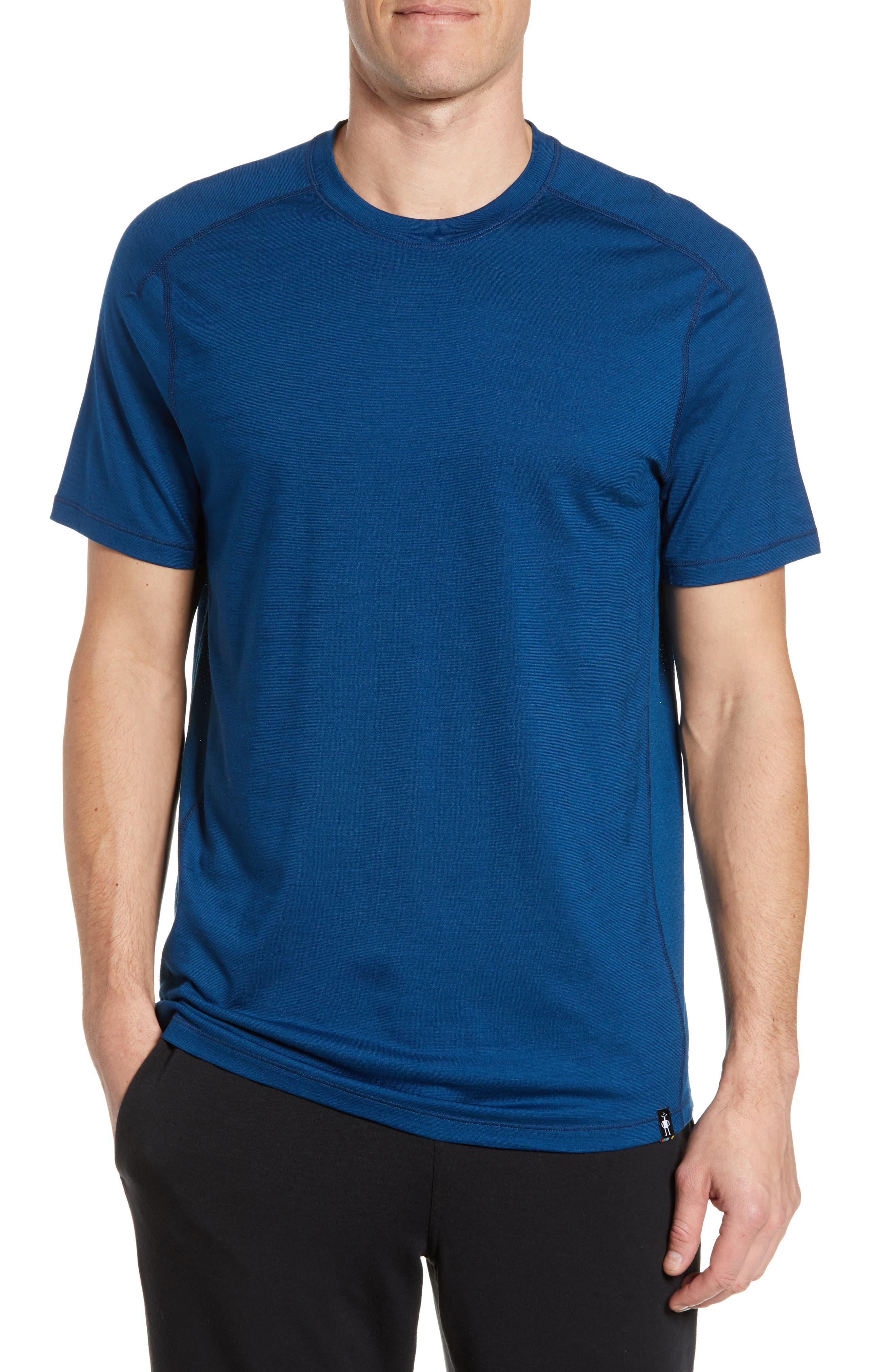Smartwool Merino Blend Tech T-Shirt, Blue