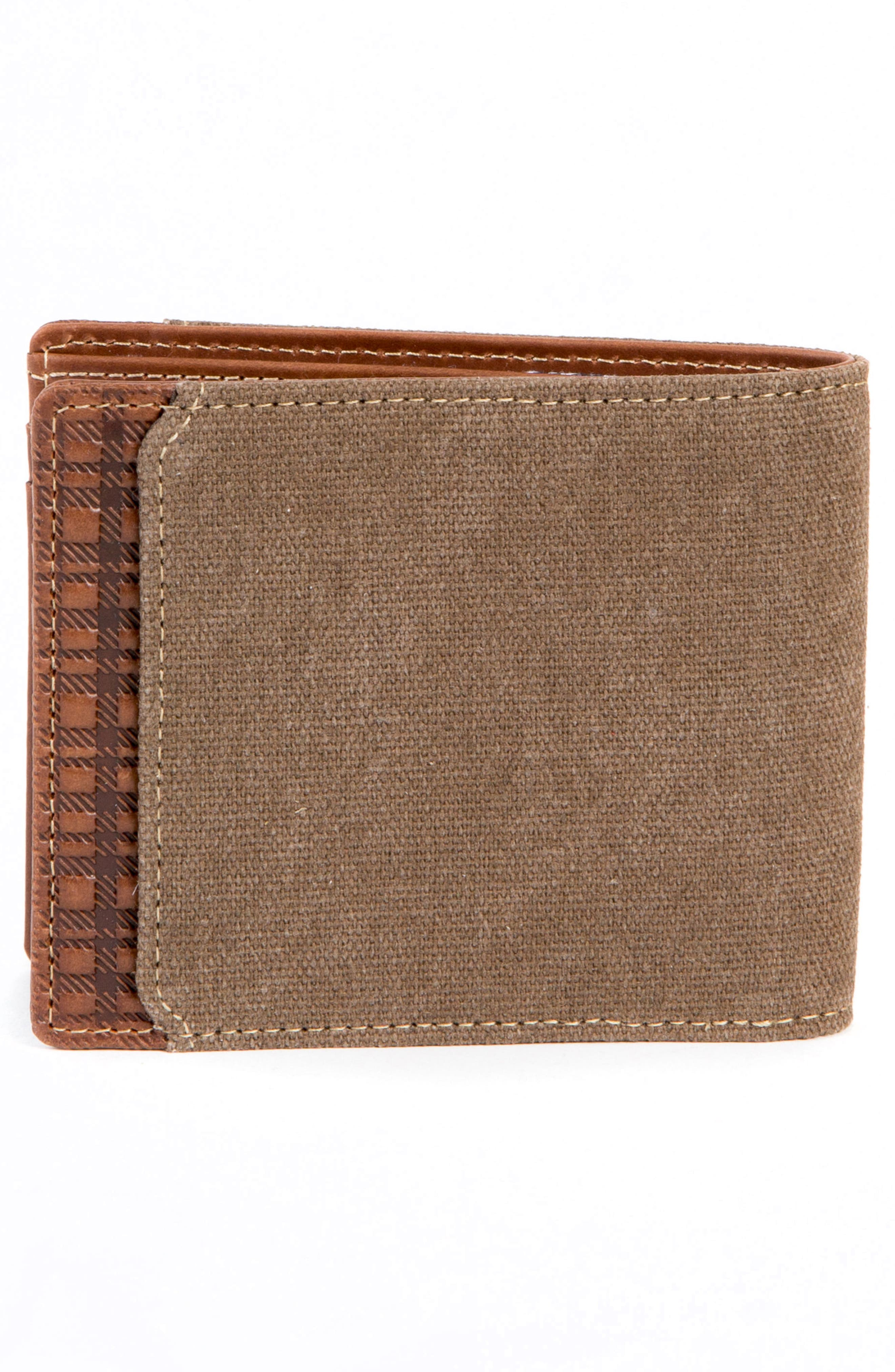 Bryant LTE Wallet,                             Alternate thumbnail 4, color,                             MAHOGANY/ HEATHER