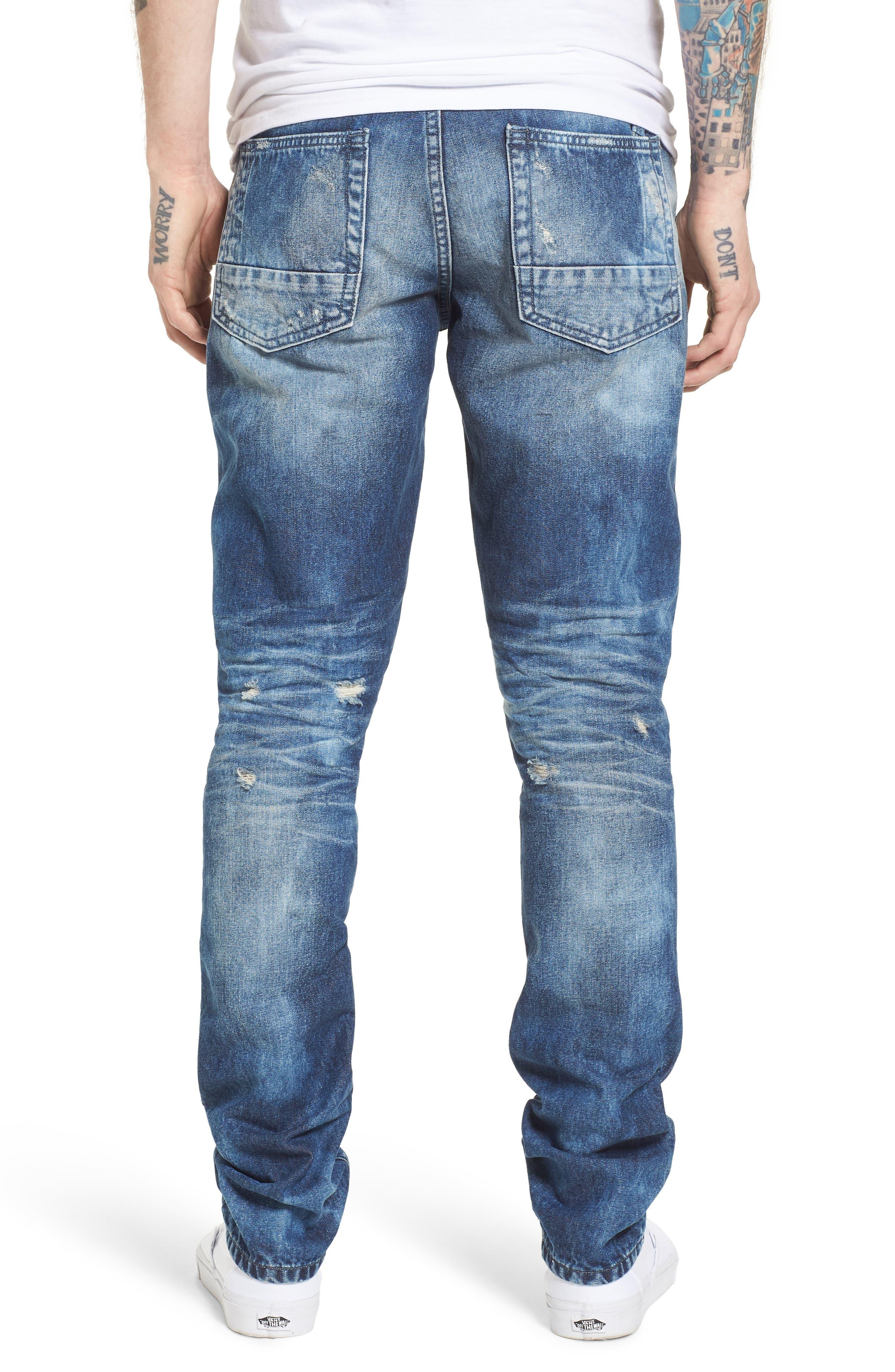 Le Sabre Slim Fit Jeans,                             Alternate thumbnail 2, color,                             496