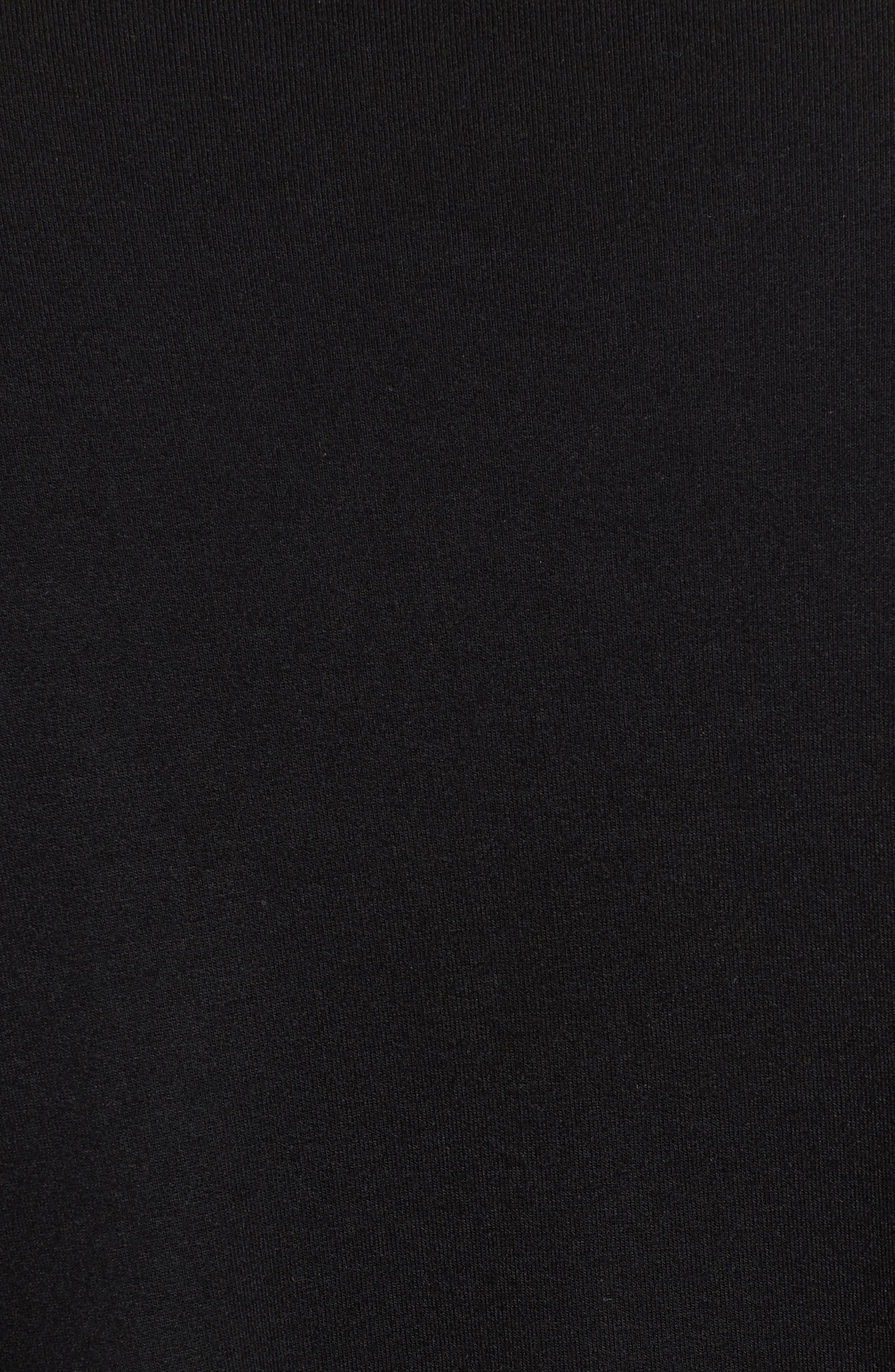 High Neck Sweatshirt,                             Alternate thumbnail 5, color,                             001