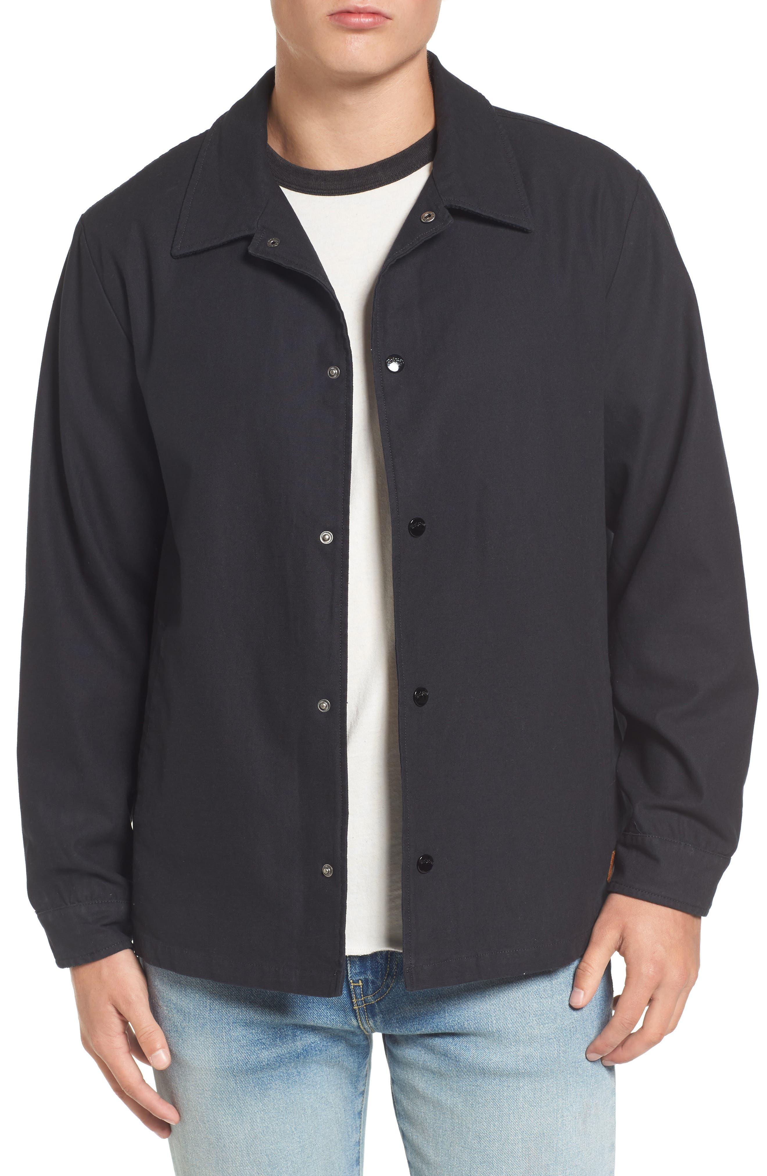 Wright Water Resistant Coach's Jacket,                         Main,                         color, 001