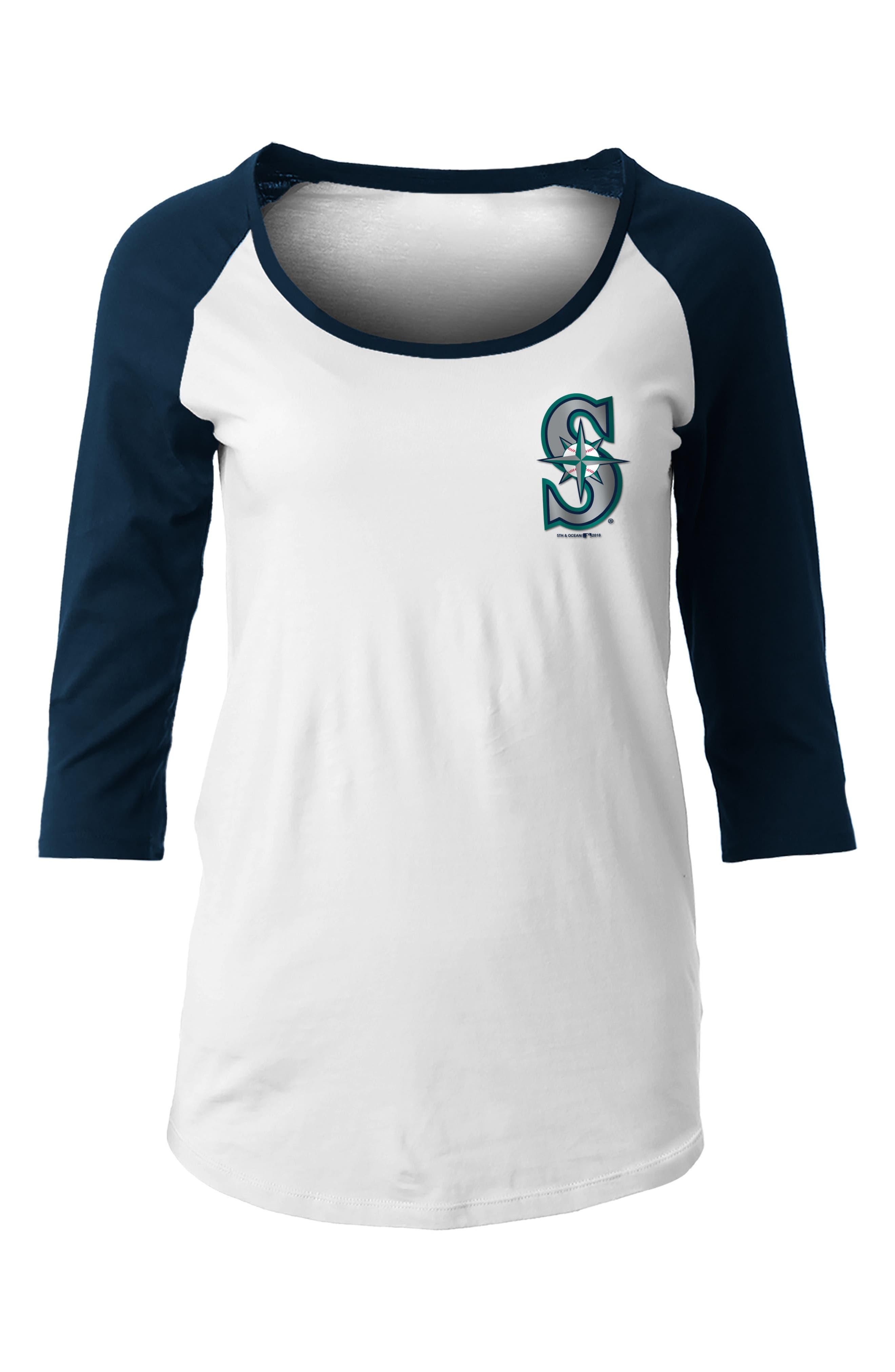 MLB Raglan Jersey Tee,                             Main thumbnail 2, color,