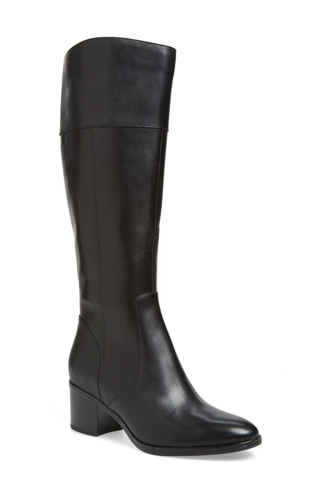 'Harbor' Tall Boot,                         Main,                         color, 001